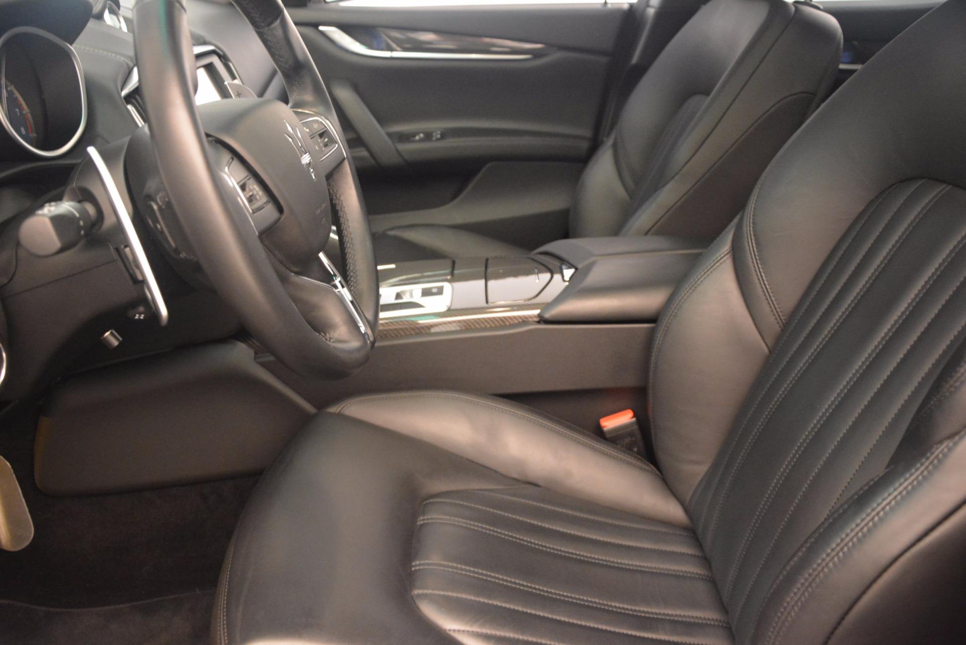 Used 2014 Maserati Ghibli S Q4 For Sale In Greenwich, CT. Alfa Romeo of Greenwich, 7203 1158_p14
