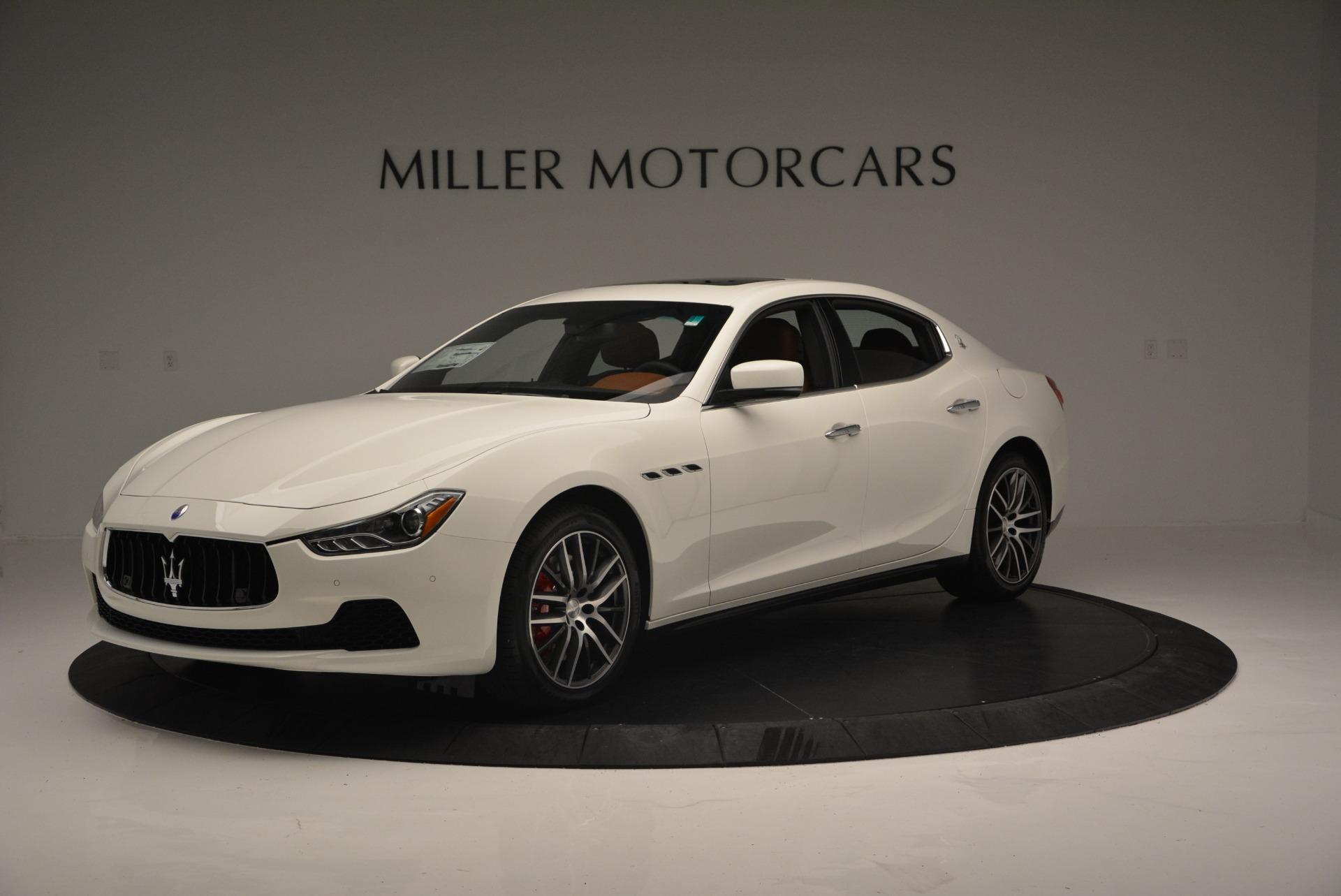 New 2017 Maserati Ghibli S Q4 For Sale In Greenwich, CT. Alfa Romeo of Greenwich, W415 1164_p2