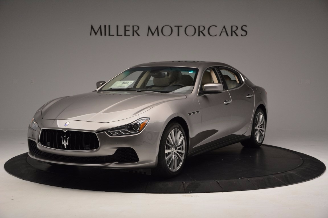 Used 2017 Maserati Ghibli S Q4 Ex-Loaner For Sale In Greenwich, CT. Alfa Romeo of Greenwich, M1717 1165_main