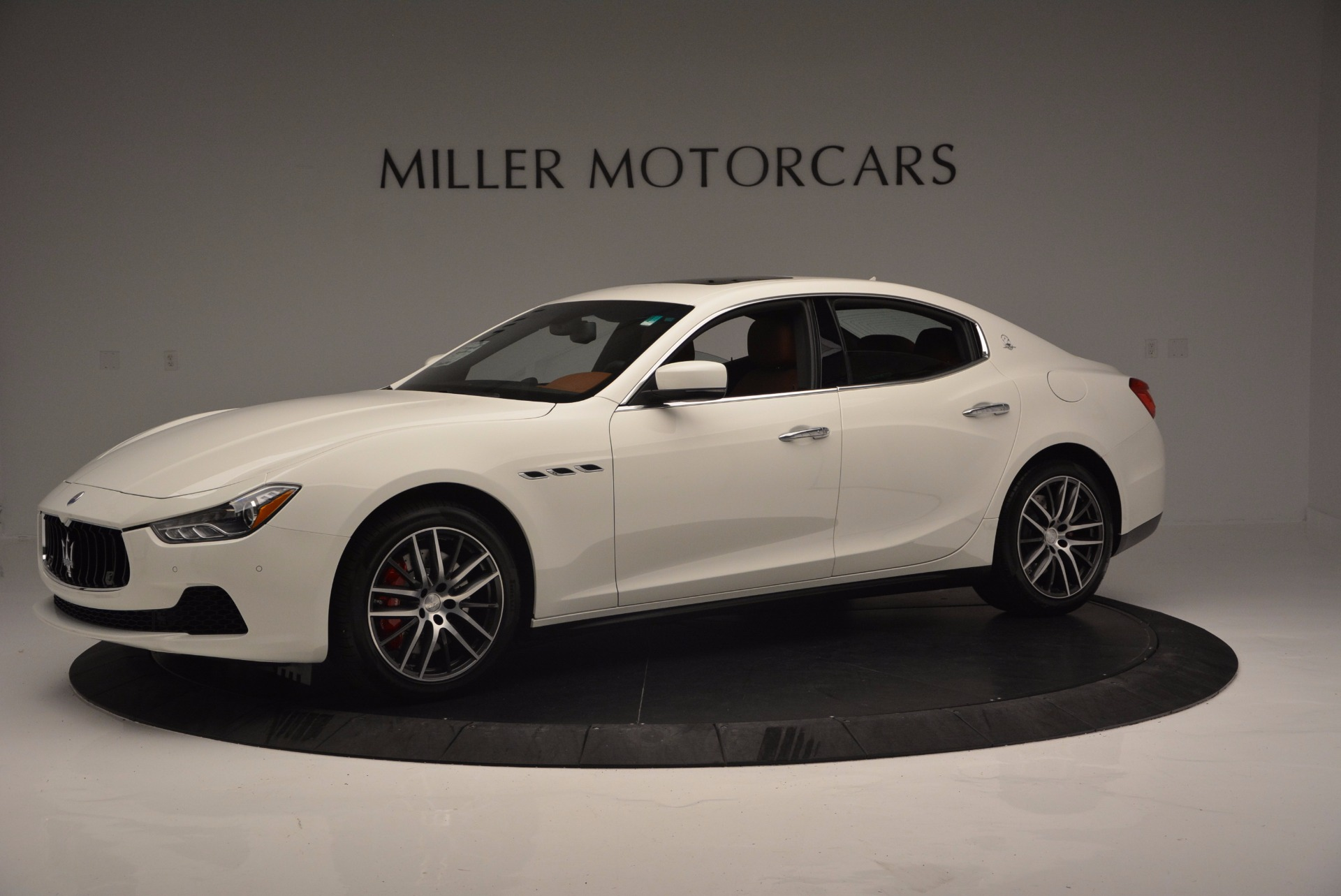 Used 2017 Maserati Ghibli S Q4 Ex-Loaner For Sale In Greenwich, CT. Alfa Romeo of Greenwich, M1721 1166_p2