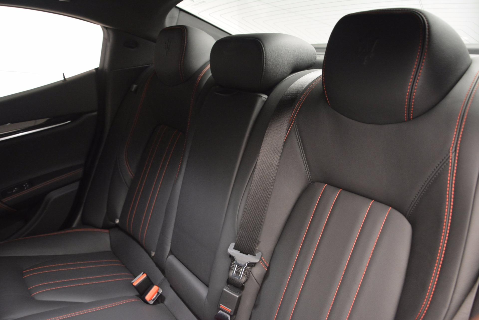 Used 2017 Maserati Ghibli SQ4 S Q4 Ex-Loaner For Sale In Greenwich, CT. Alfa Romeo of Greenwich, M1724 1168_p19
