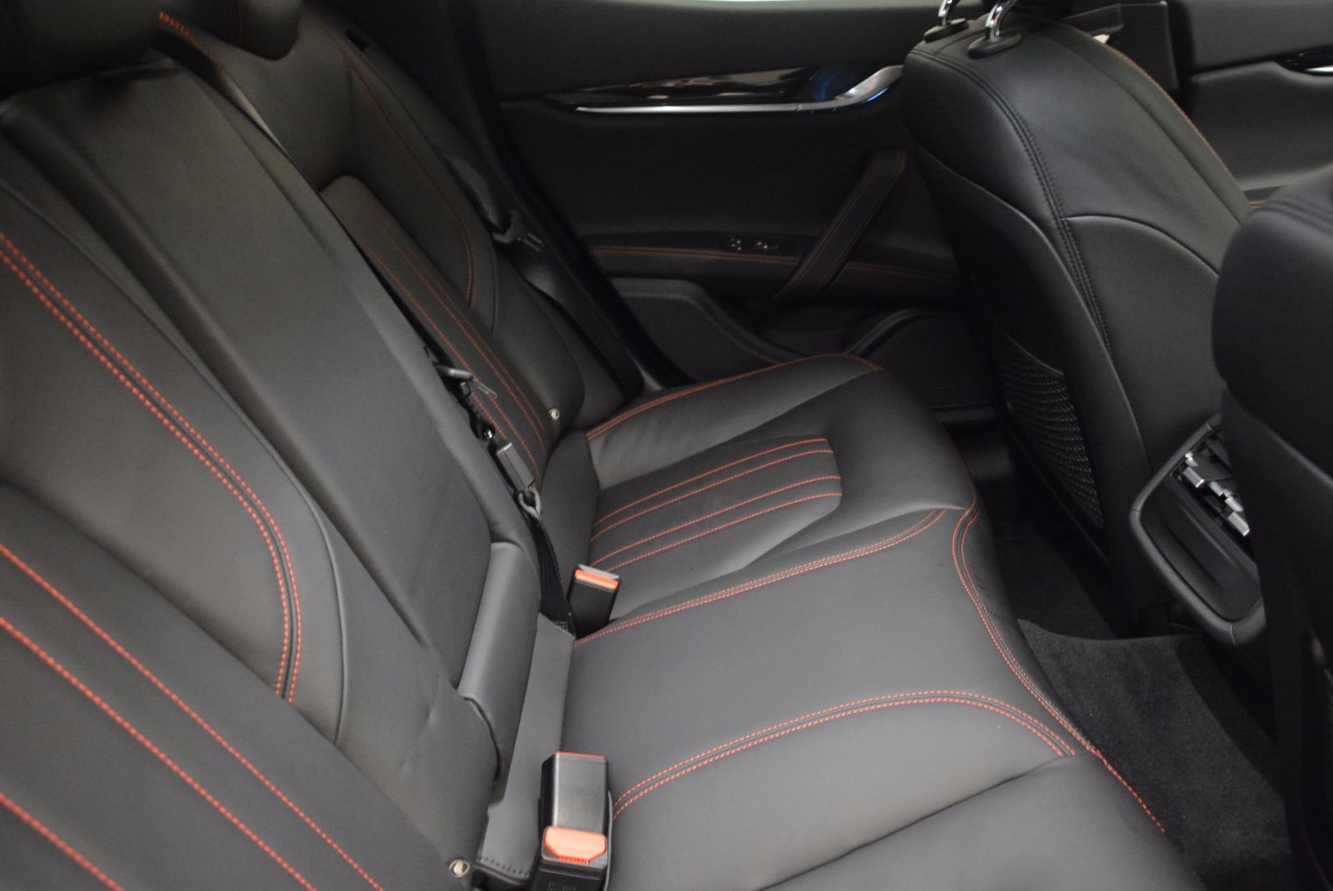 Used 2017 Maserati Ghibli SQ4 S Q4 Ex-Loaner For Sale In Greenwich, CT. Alfa Romeo of Greenwich, M1724 1168_p21