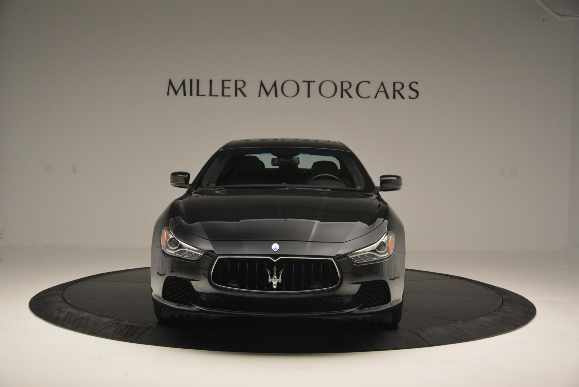 Used 2015 Maserati Ghibli S Q4 For Sale In Greenwich, CT. Alfa Romeo of Greenwich, M1609A 117_p11