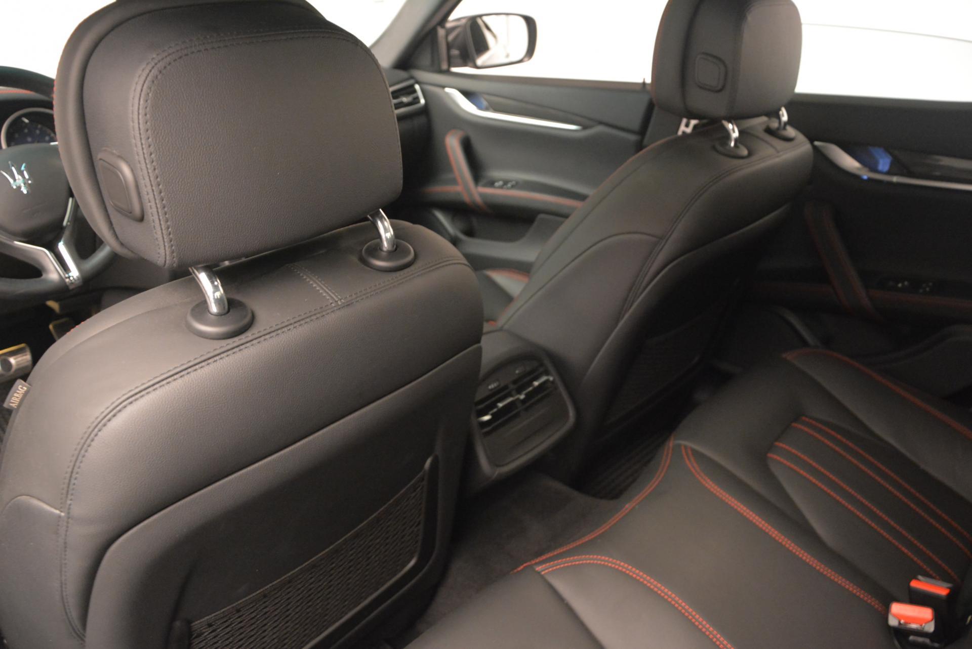 Used 2015 Maserati Ghibli S Q4 For Sale In Greenwich, CT. Alfa Romeo of Greenwich, M1609A 117_p15
