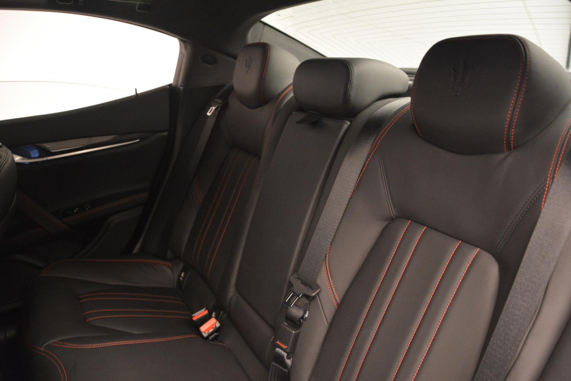 Used 2015 Maserati Ghibli S Q4 For Sale In Greenwich, CT. Alfa Romeo of Greenwich, M1609A 117_p17