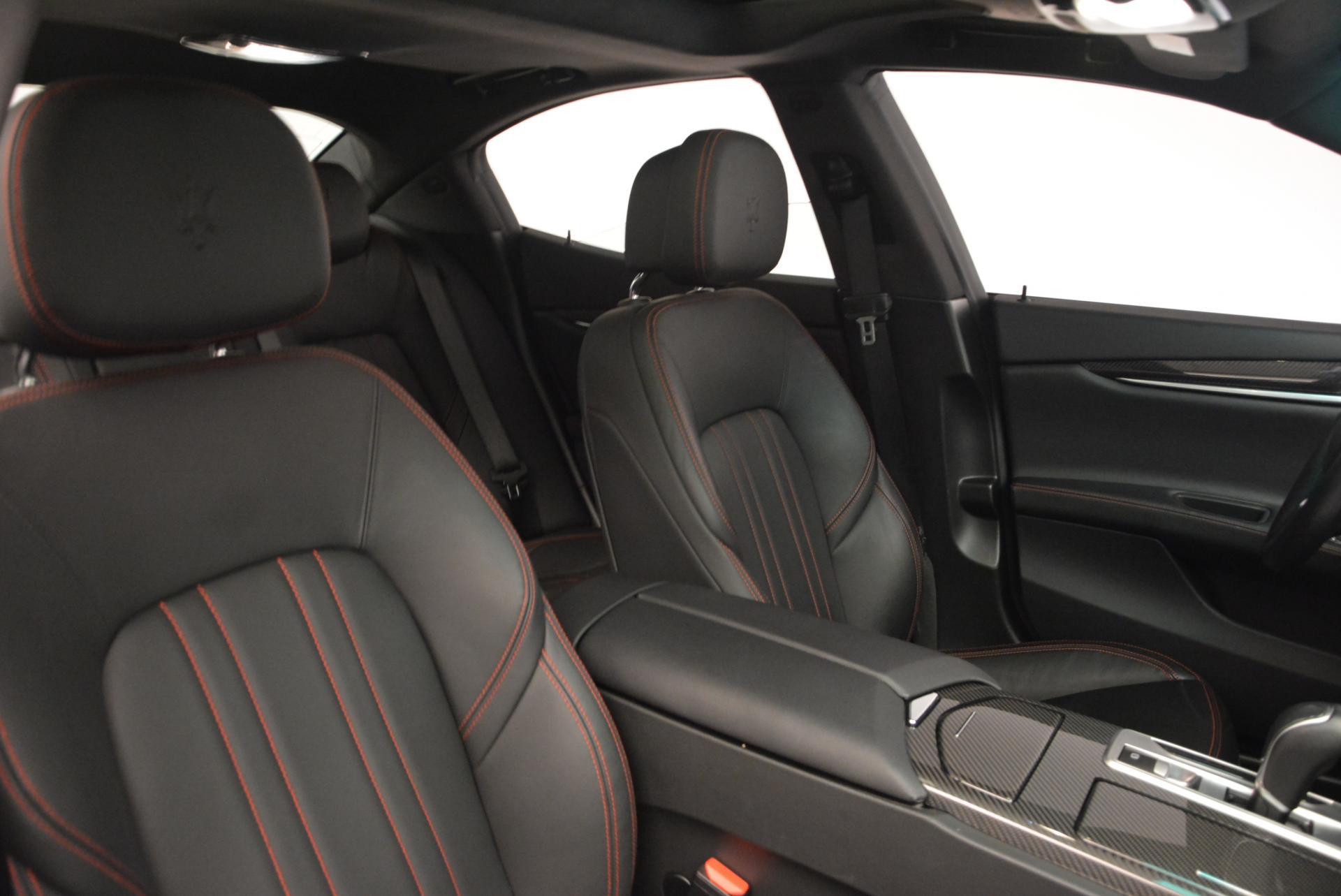 Used 2015 Maserati Ghibli S Q4 For Sale In Greenwich, CT. Alfa Romeo of Greenwich, M1609A 117_p20