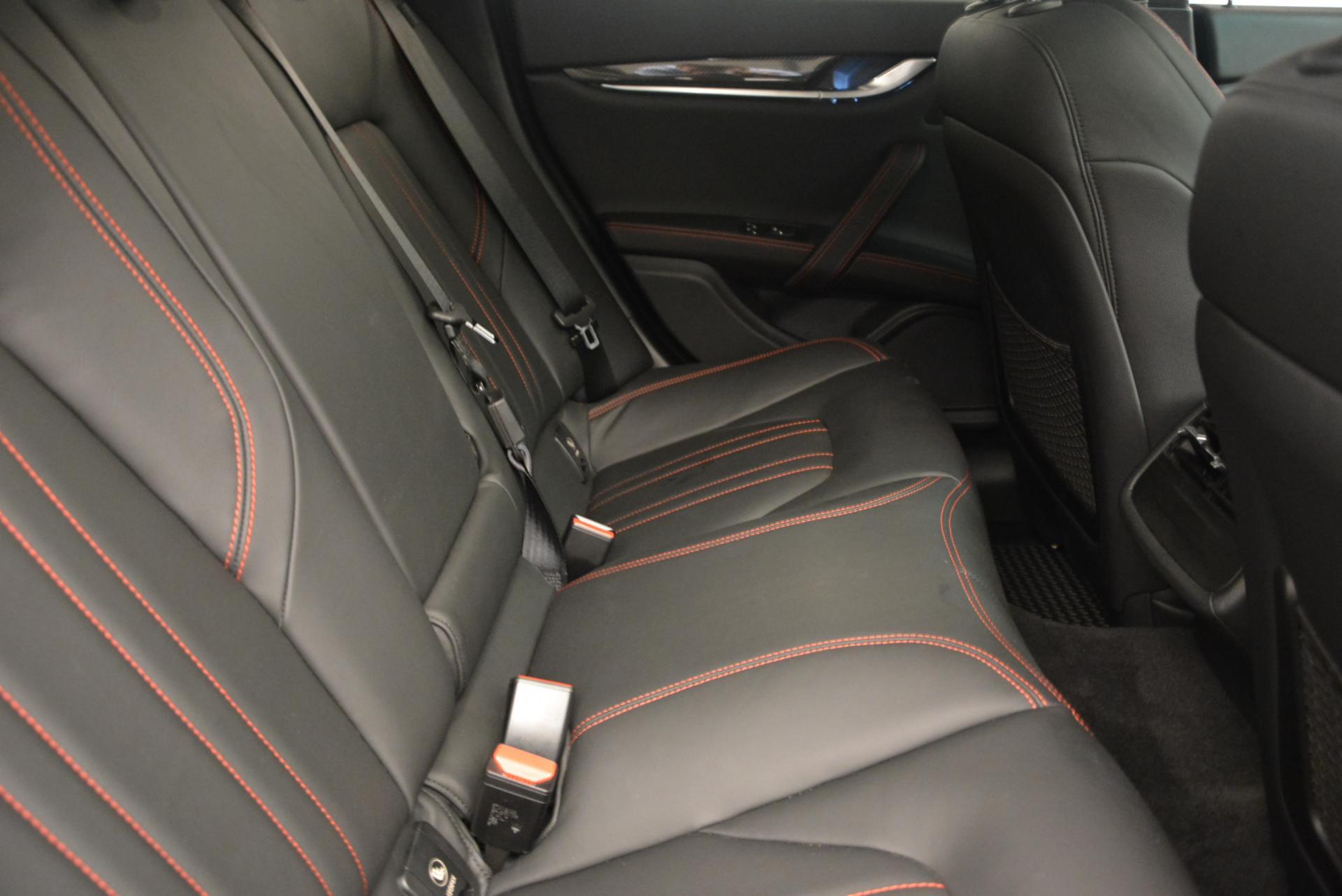 Used 2015 Maserati Ghibli S Q4 For Sale In Greenwich, CT. Alfa Romeo of Greenwich, M1609A 117_p22