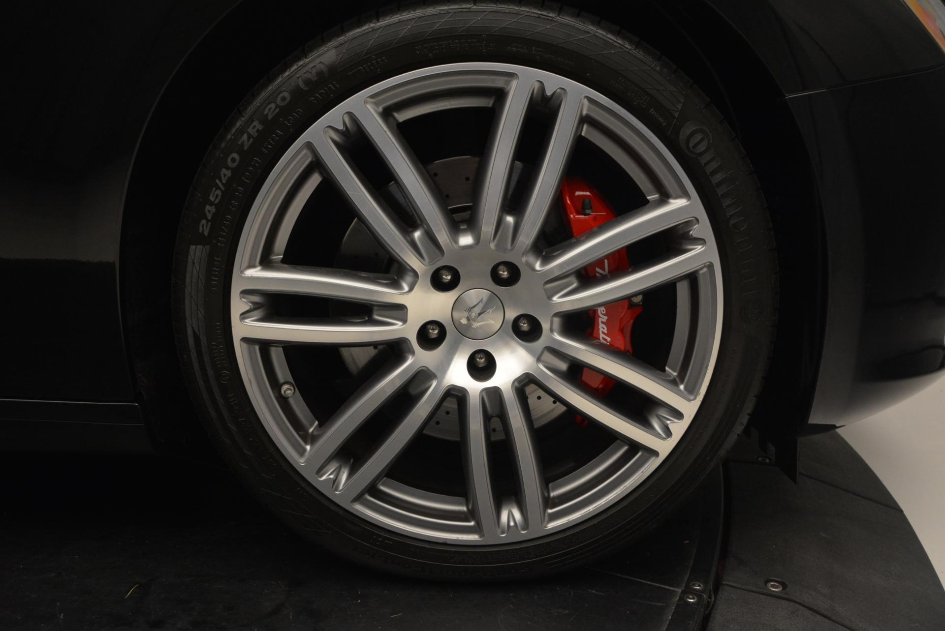 Used 2015 Maserati Ghibli S Q4 For Sale In Greenwich, CT. Alfa Romeo of Greenwich, M1609A 117_p24