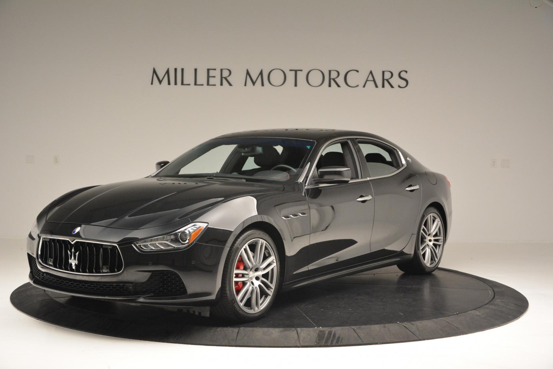 Used 2015 Maserati Ghibli S Q4 For Sale In Greenwich, CT. Alfa Romeo of Greenwich, M1609A 117_p25
