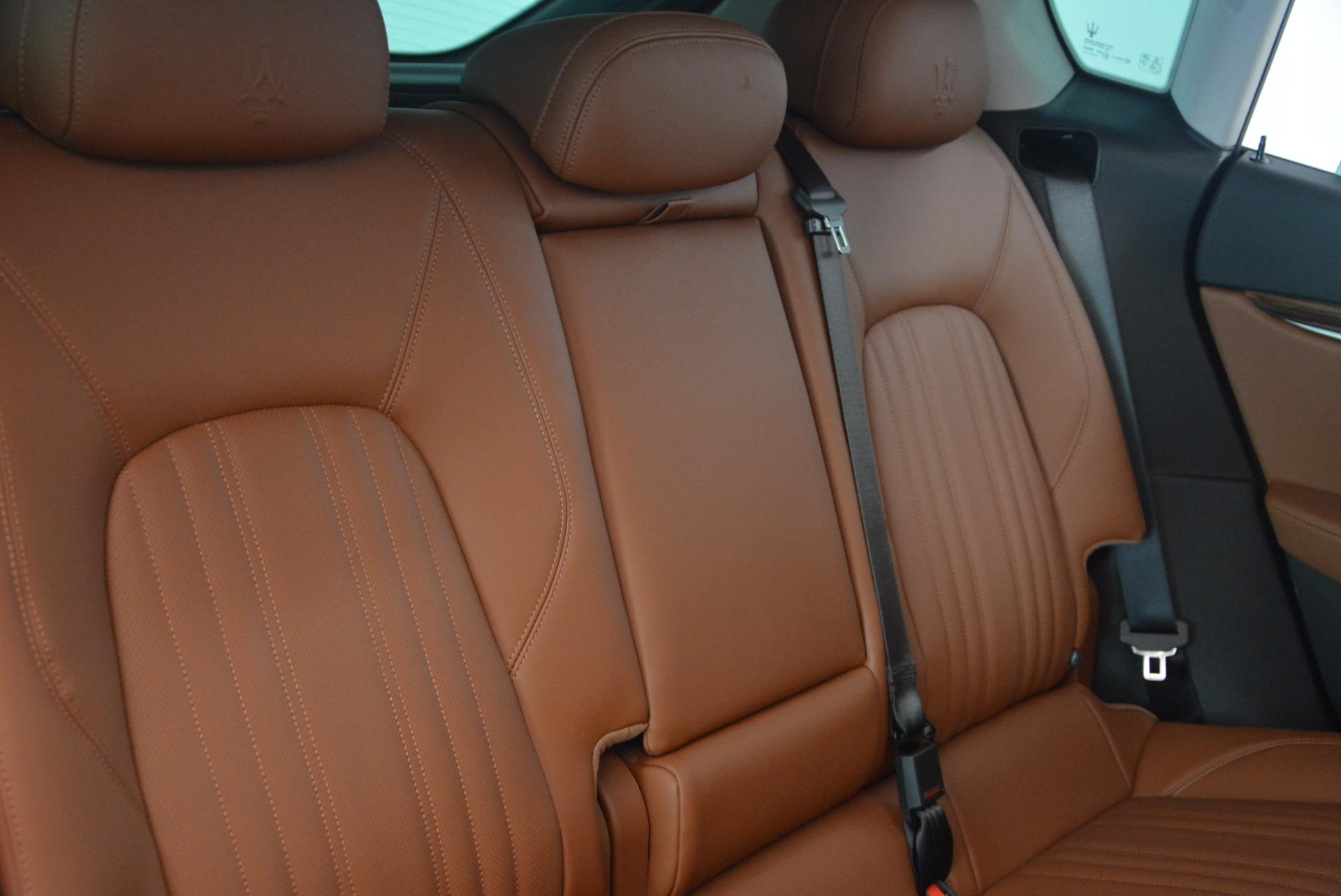 New 2017 Maserati Levante S For Sale In Greenwich, CT. Alfa Romeo of Greenwich, W457 1171_p25