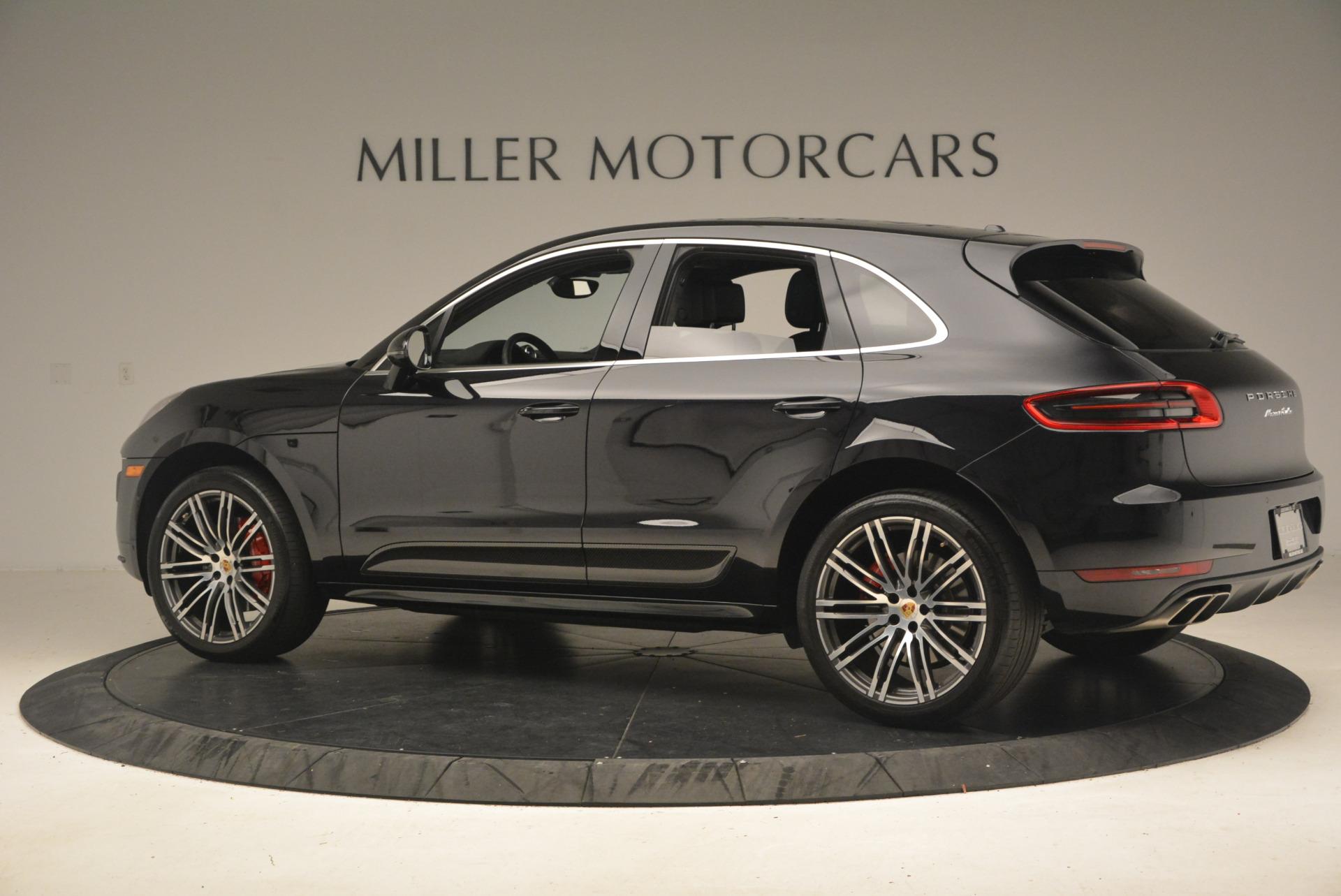 Used 2016 Porsche Macan Turbo For Sale In Greenwich, CT. Alfa Romeo of Greenwich, L083A 1177_p4