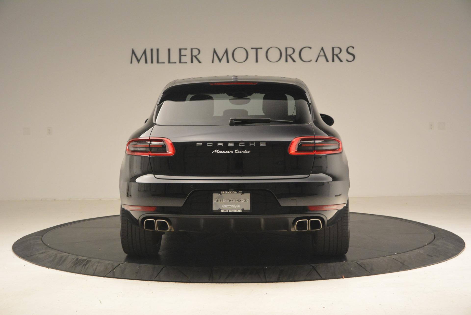Used 2016 Porsche Macan Turbo For Sale In Greenwich, CT. Alfa Romeo of Greenwich, L083A 1177_p6
