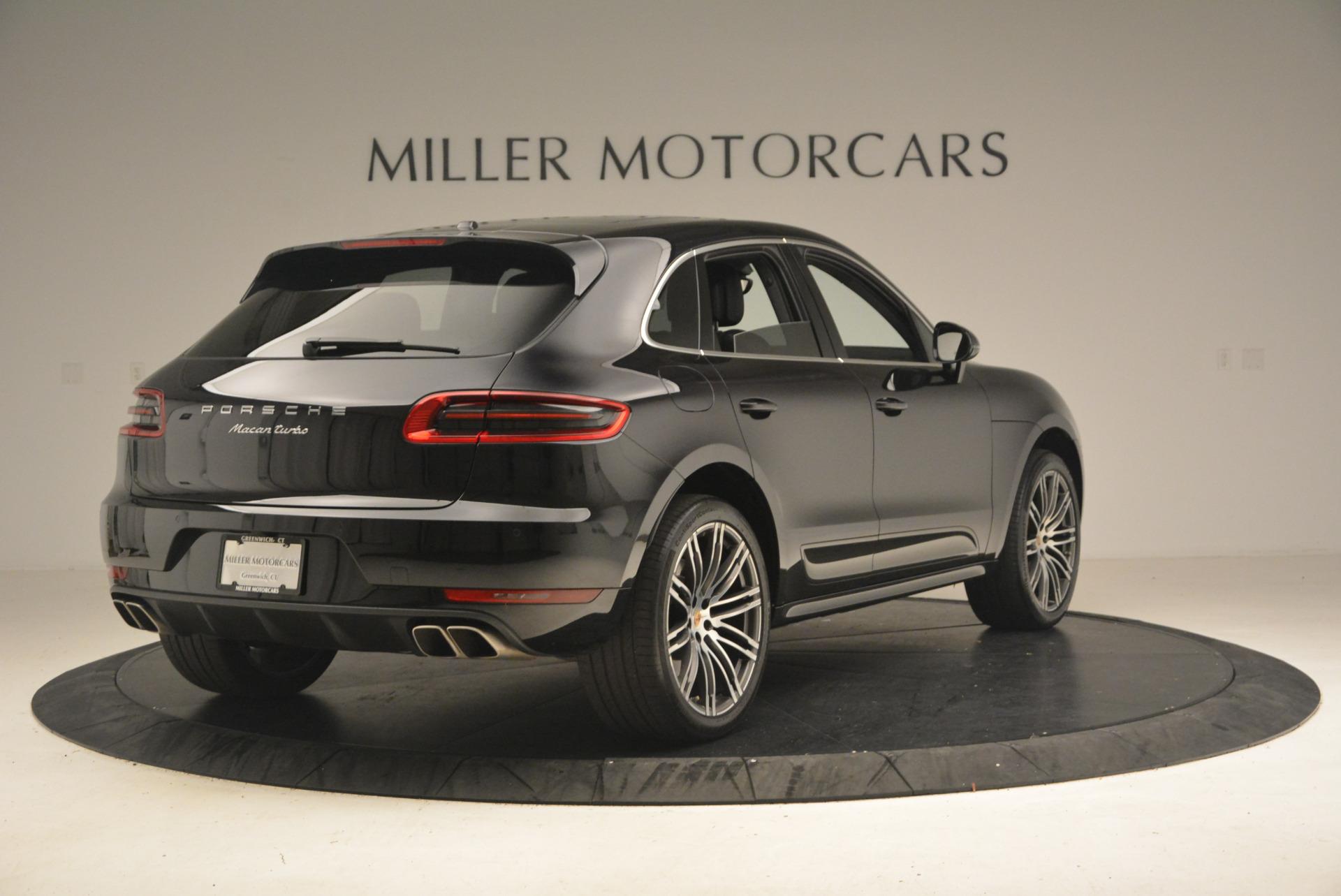 Used 2016 Porsche Macan Turbo For Sale In Greenwich, CT. Alfa Romeo of Greenwich, L083A 1177_p7