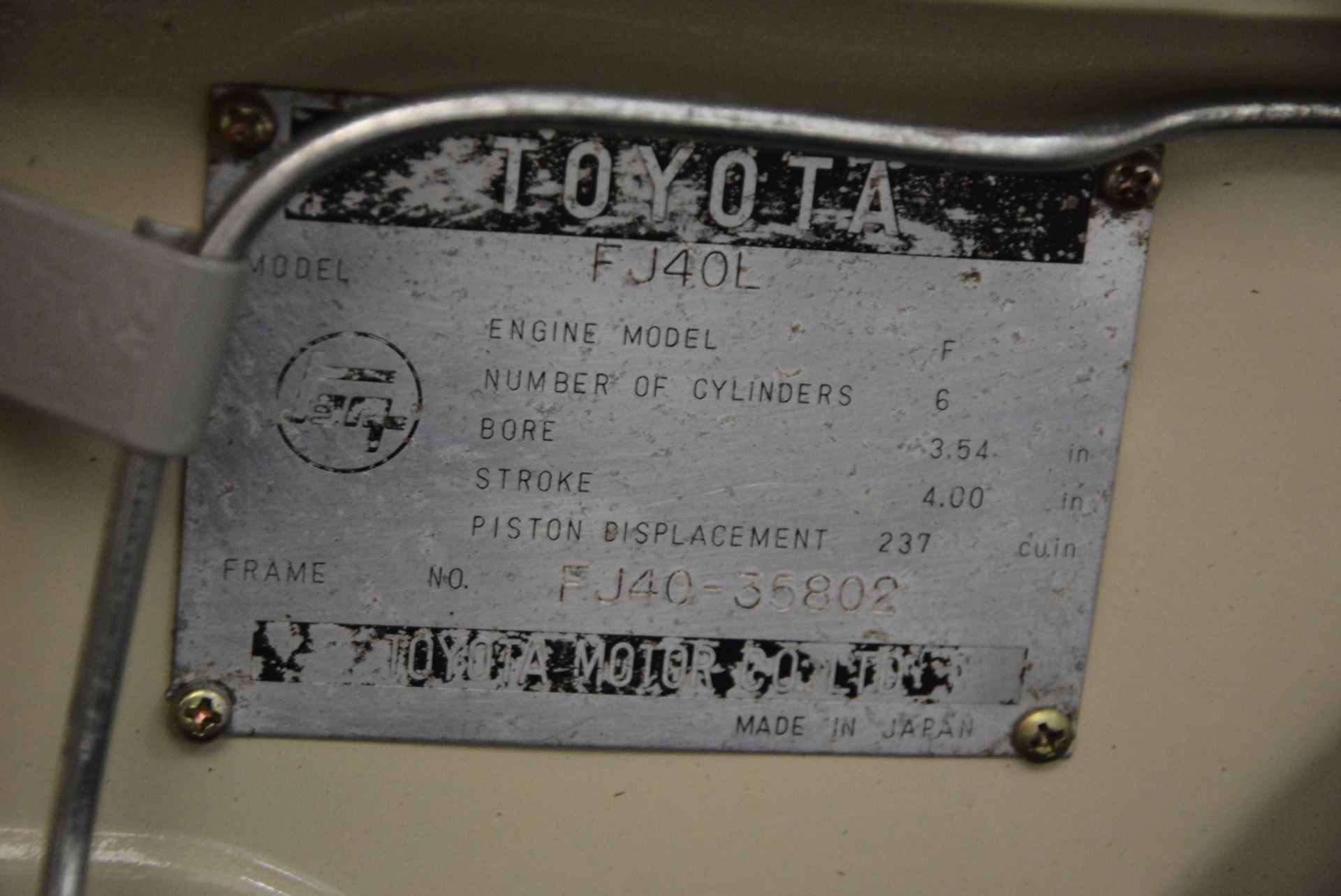 Used 1966 Toyota FJ40 Land Cruiser Land Cruiser For Sale In Greenwich, CT. Alfa Romeo of Greenwich, 11123 1179_p32