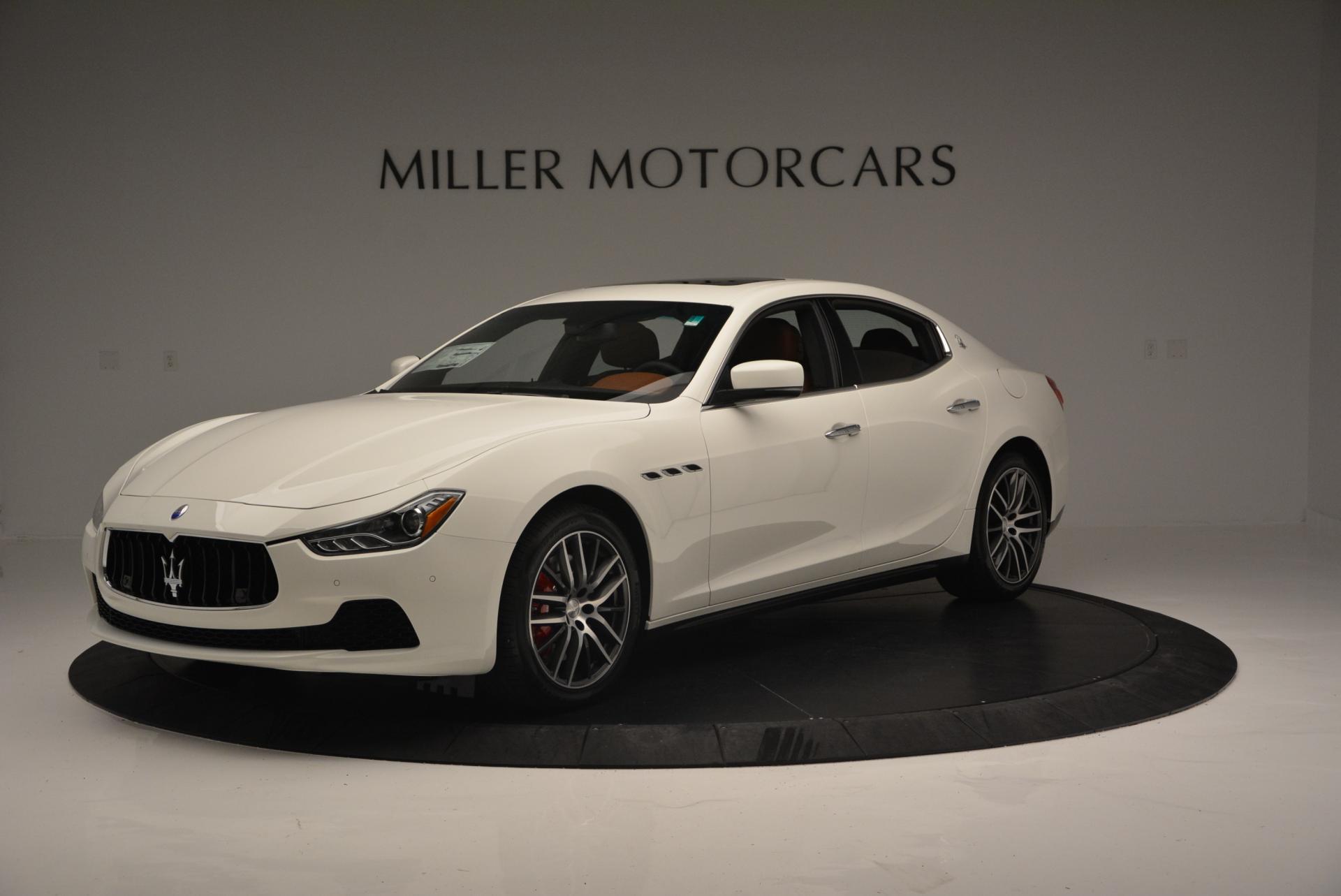 New 2016 Maserati Ghibli S Q4 For Sale In Greenwich, CT. Alfa Romeo of Greenwich, M1606 118_main