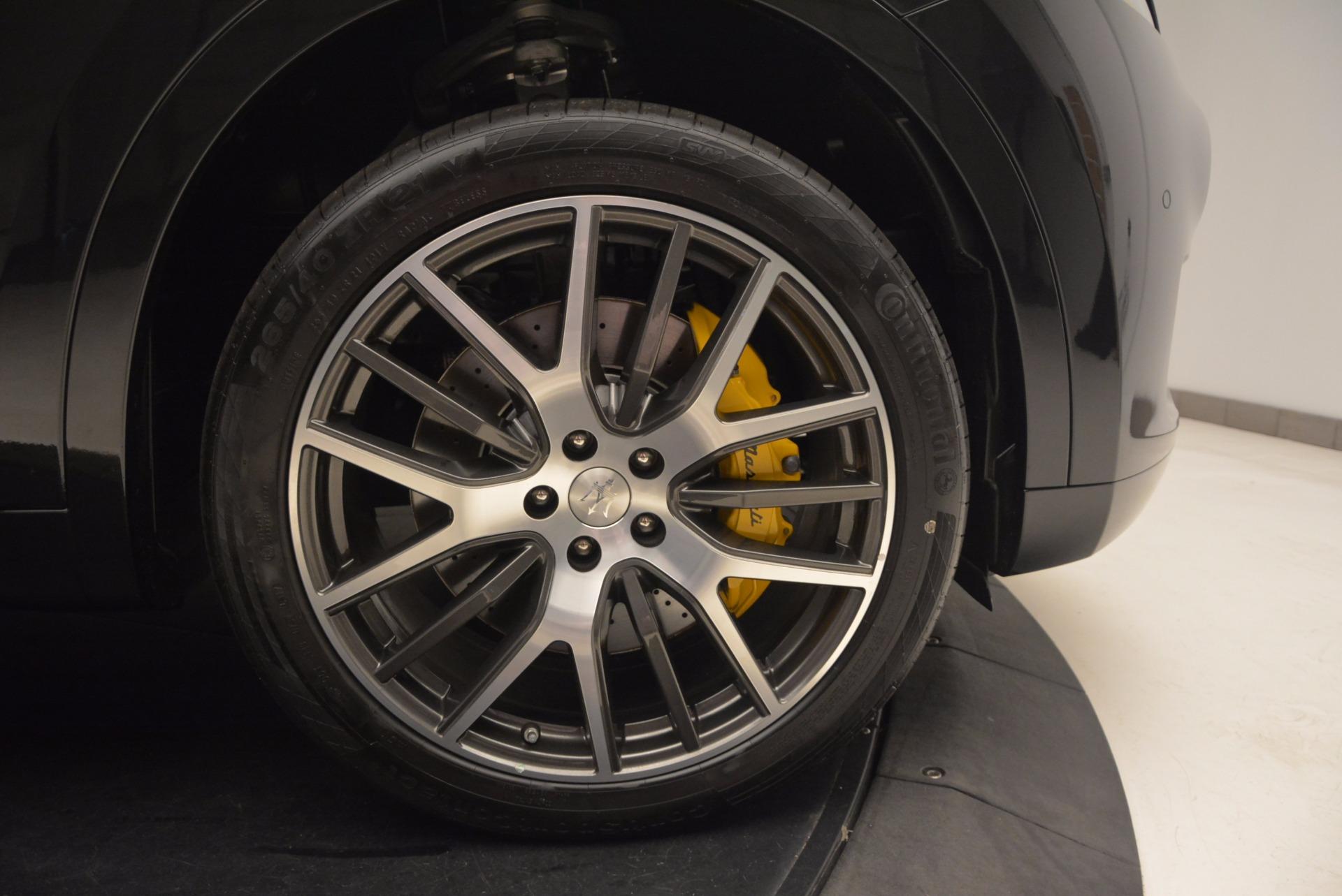 New 2017 Maserati Levante S For Sale In Greenwich, CT. Alfa Romeo of Greenwich, W460 1215_p25