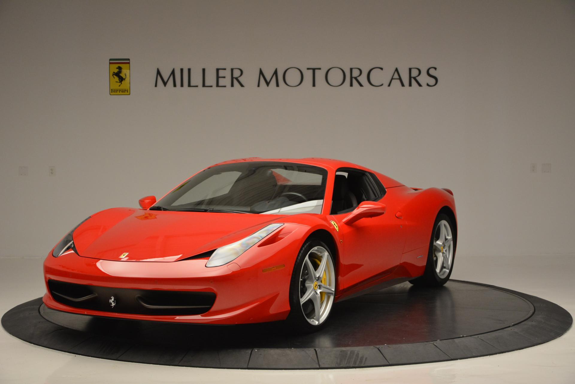 Used 2014 Ferrari 458 Spider  For Sale In Greenwich, CT. Alfa Romeo of Greenwich, 4315 122_p13