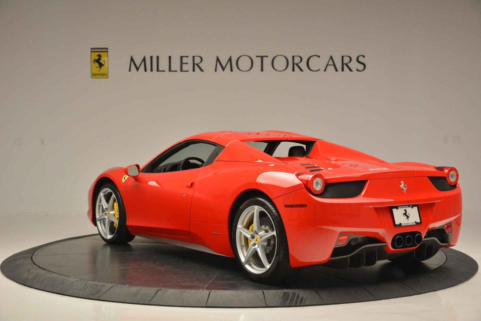 Used 2014 Ferrari 458 Spider  For Sale In Greenwich, CT. Alfa Romeo of Greenwich, 4315 122_p17