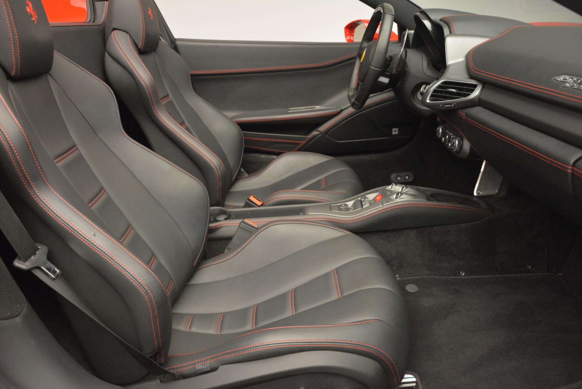 Used 2014 Ferrari 458 Spider  For Sale In Greenwich, CT. Alfa Romeo of Greenwich, 4315 122_p30