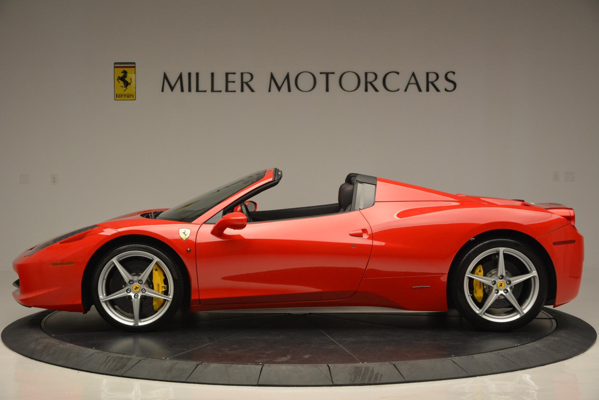 Used 2014 Ferrari 458 Spider  For Sale In Greenwich, CT. Alfa Romeo of Greenwich, 4315 122_p3