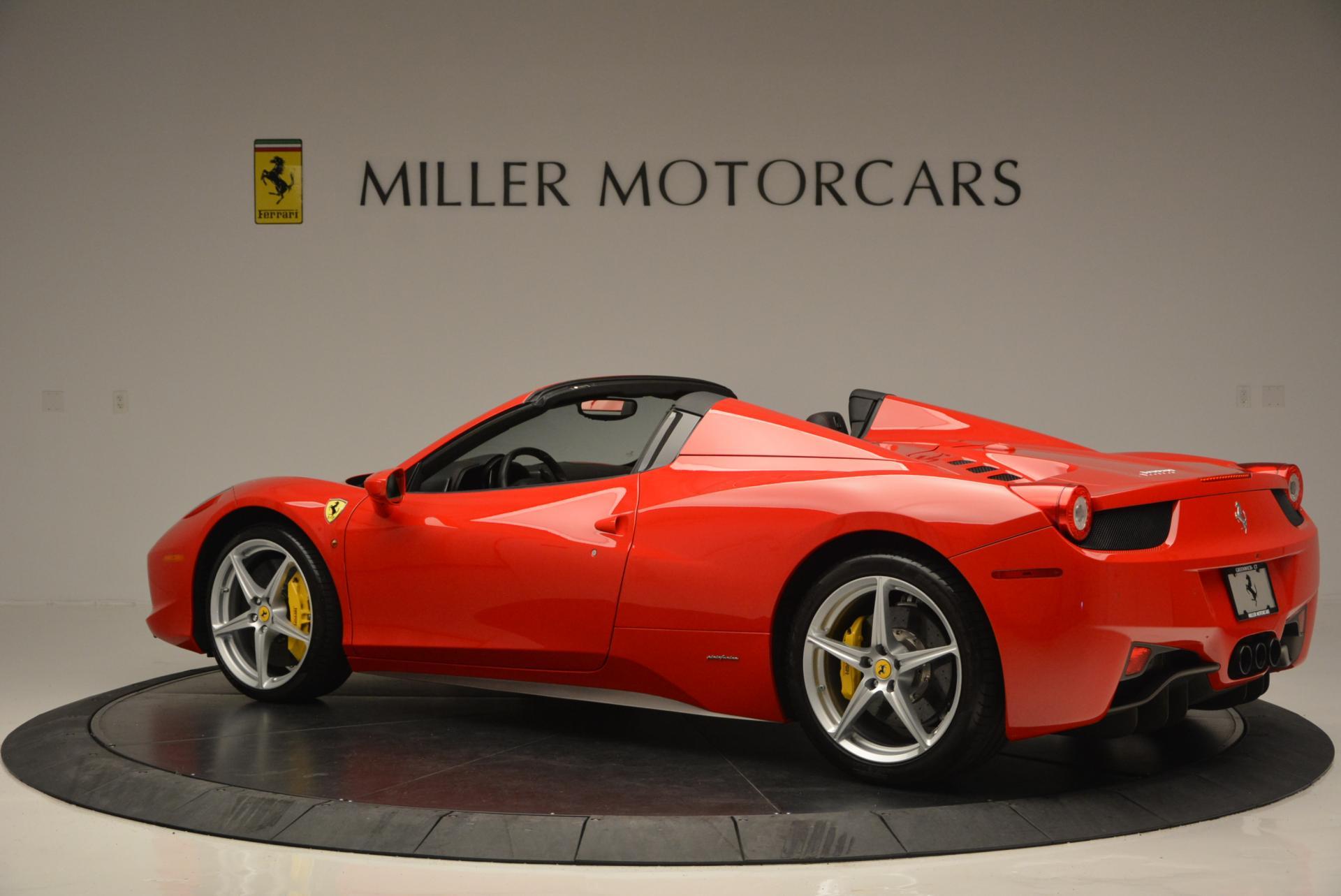 Used 2014 Ferrari 458 Spider  For Sale In Greenwich, CT. Alfa Romeo of Greenwich, 4315 122_p4