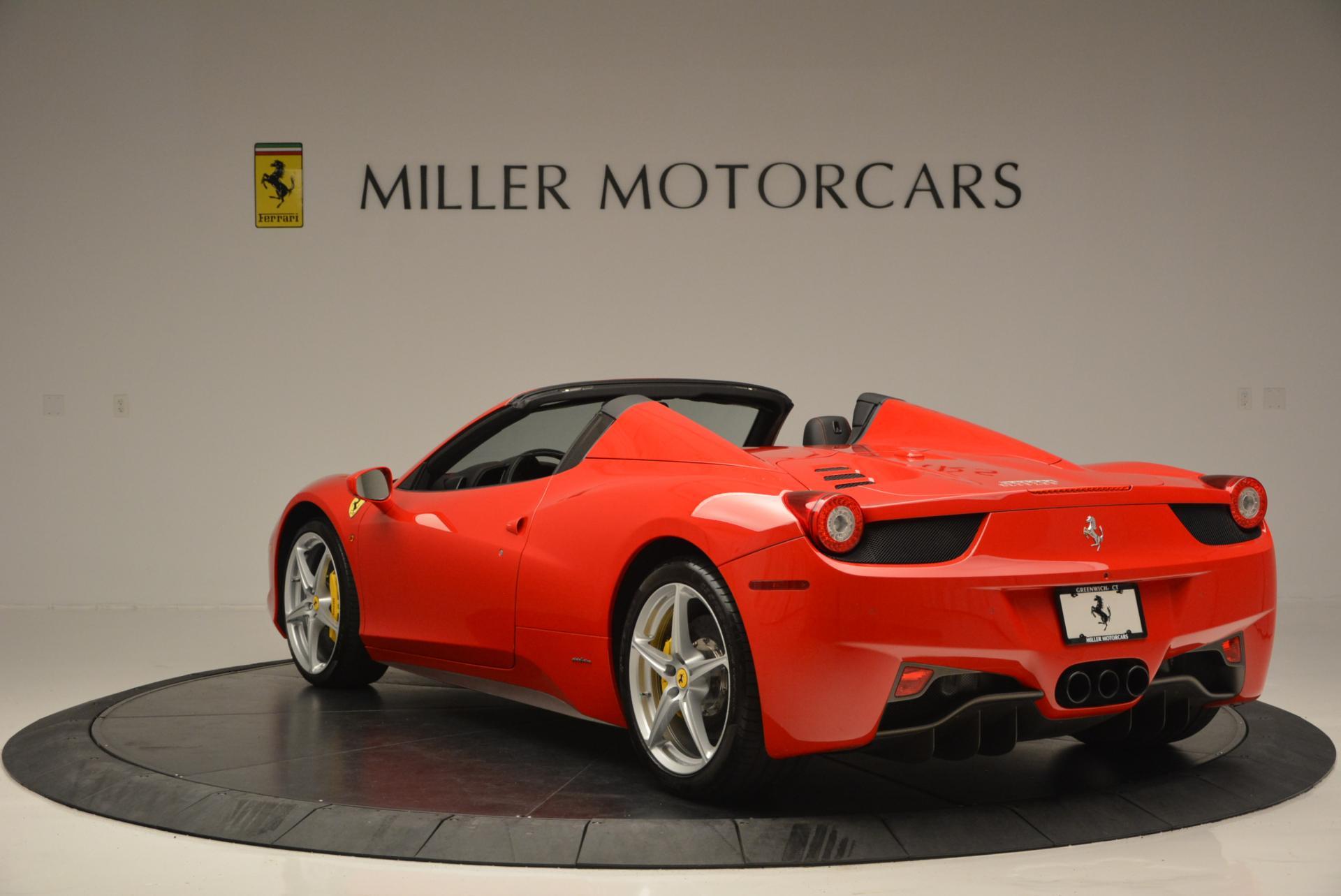 Used 2014 Ferrari 458 Spider  For Sale In Greenwich, CT. Alfa Romeo of Greenwich, 4315 122_p5