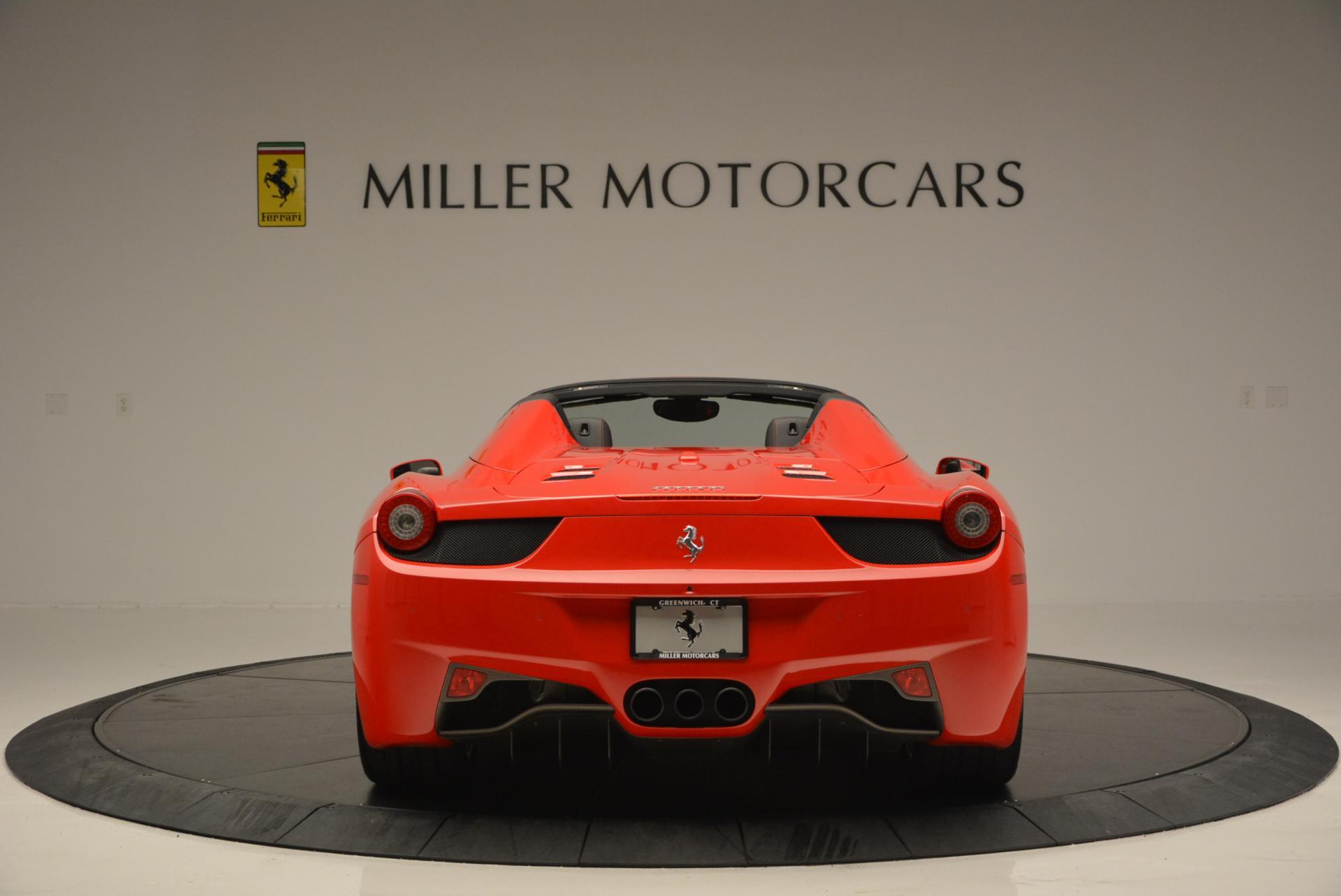Used 2014 Ferrari 458 Spider  For Sale In Greenwich, CT. Alfa Romeo of Greenwich, 4315 122_p6