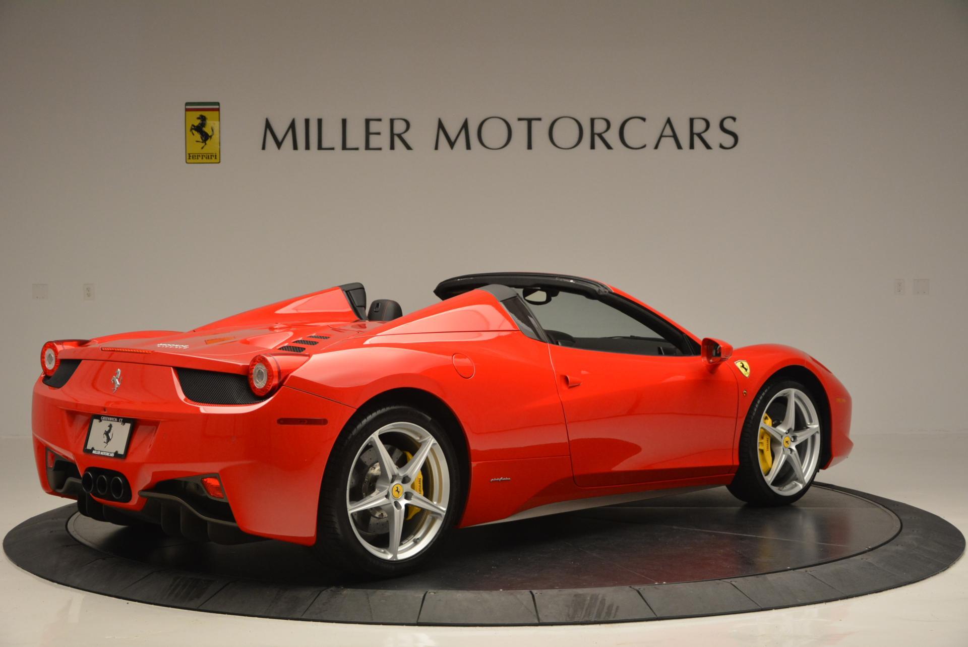 Used 2014 Ferrari 458 Spider  For Sale In Greenwich, CT. Alfa Romeo of Greenwich, 4315 122_p8