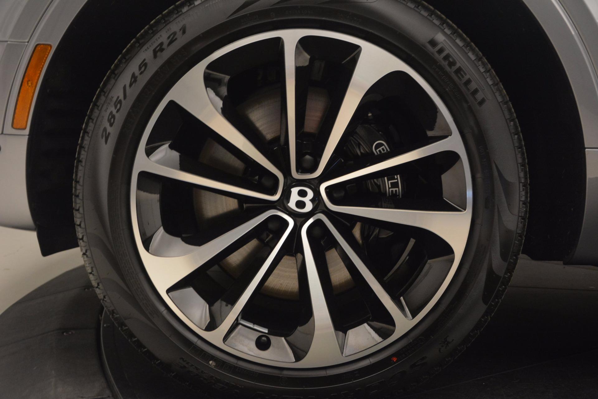 New 2018 Bentley Bentayga Onyx For Sale In Greenwich, CT. Alfa Romeo of Greenwich, B1256 1220_p18