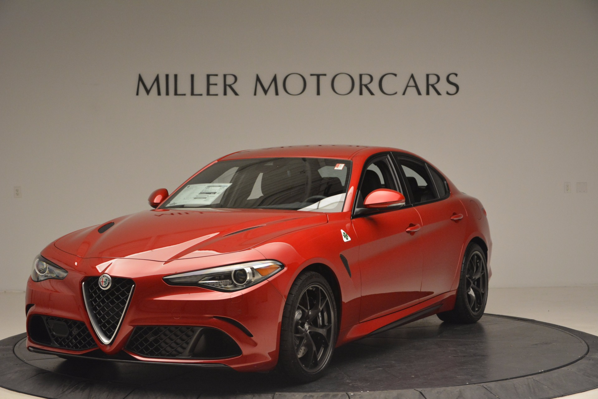 New 2017 Alfa Romeo Giulia Quadrifoglio Quadrifoglio For Sale In Greenwich, CT. Alfa Romeo of Greenwich, L115 1226_main