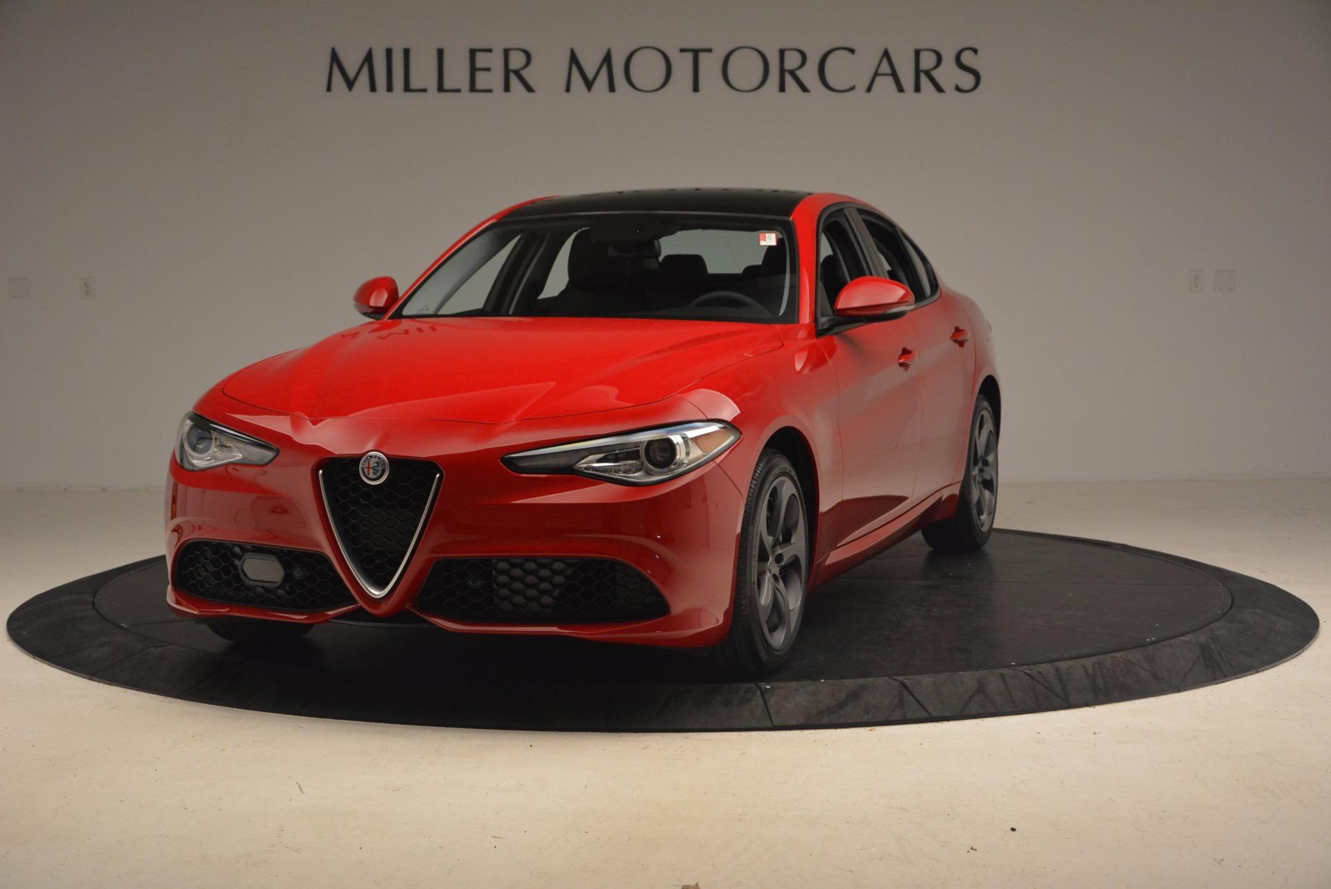 New 2017 Alfa Romeo Giulia Ti Sport Q4 For Sale In Greenwich, CT. Alfa Romeo of Greenwich, LW012 1232_main