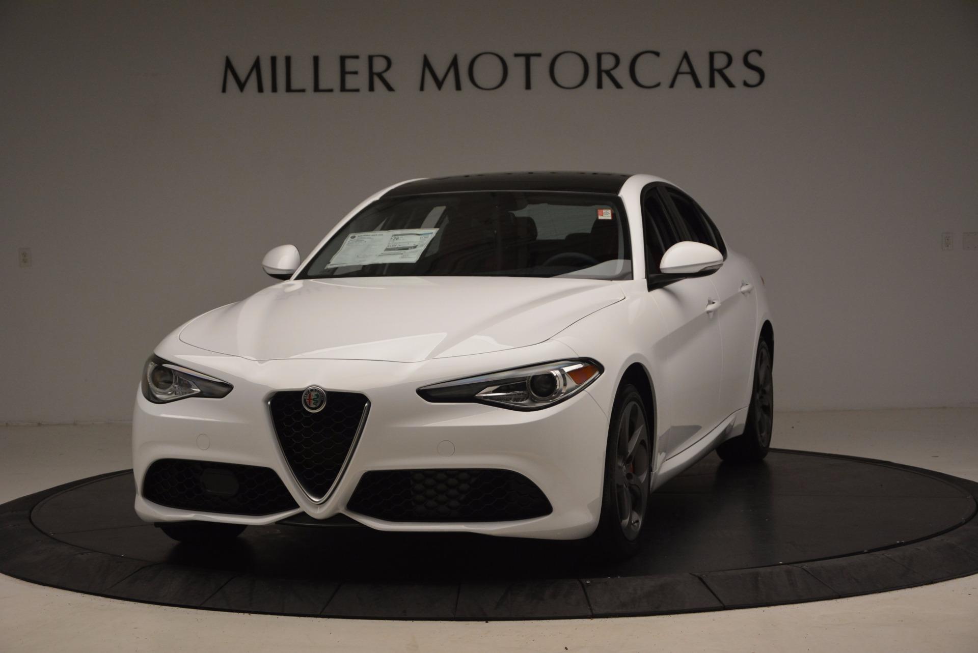 New 2017 Alfa Romeo Giulia Q4 For Sale In Greenwich, CT. Alfa Romeo of Greenwich, L100 1242_main