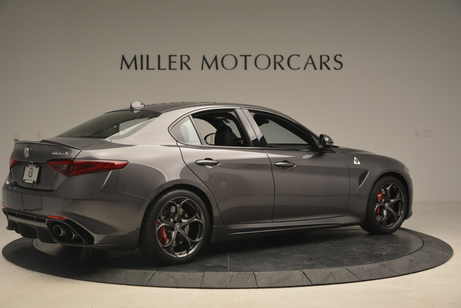 New 2017 Alfa Romeo Giulia Quadrifoglio For Sale In Greenwich, CT. Alfa Romeo of Greenwich, L085 1258_p9