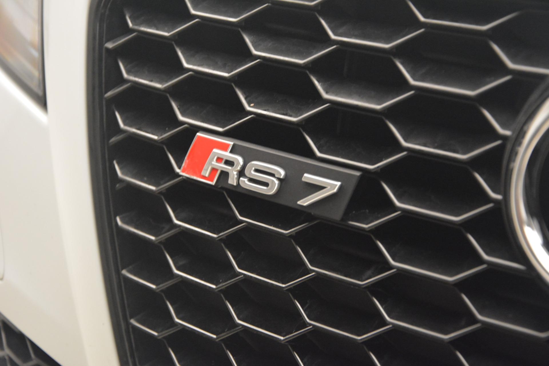 Used 2014 Audi RS 7 4.0T quattro Prestige For Sale In Greenwich, CT. Alfa Romeo of Greenwich, R416A 1262_p17