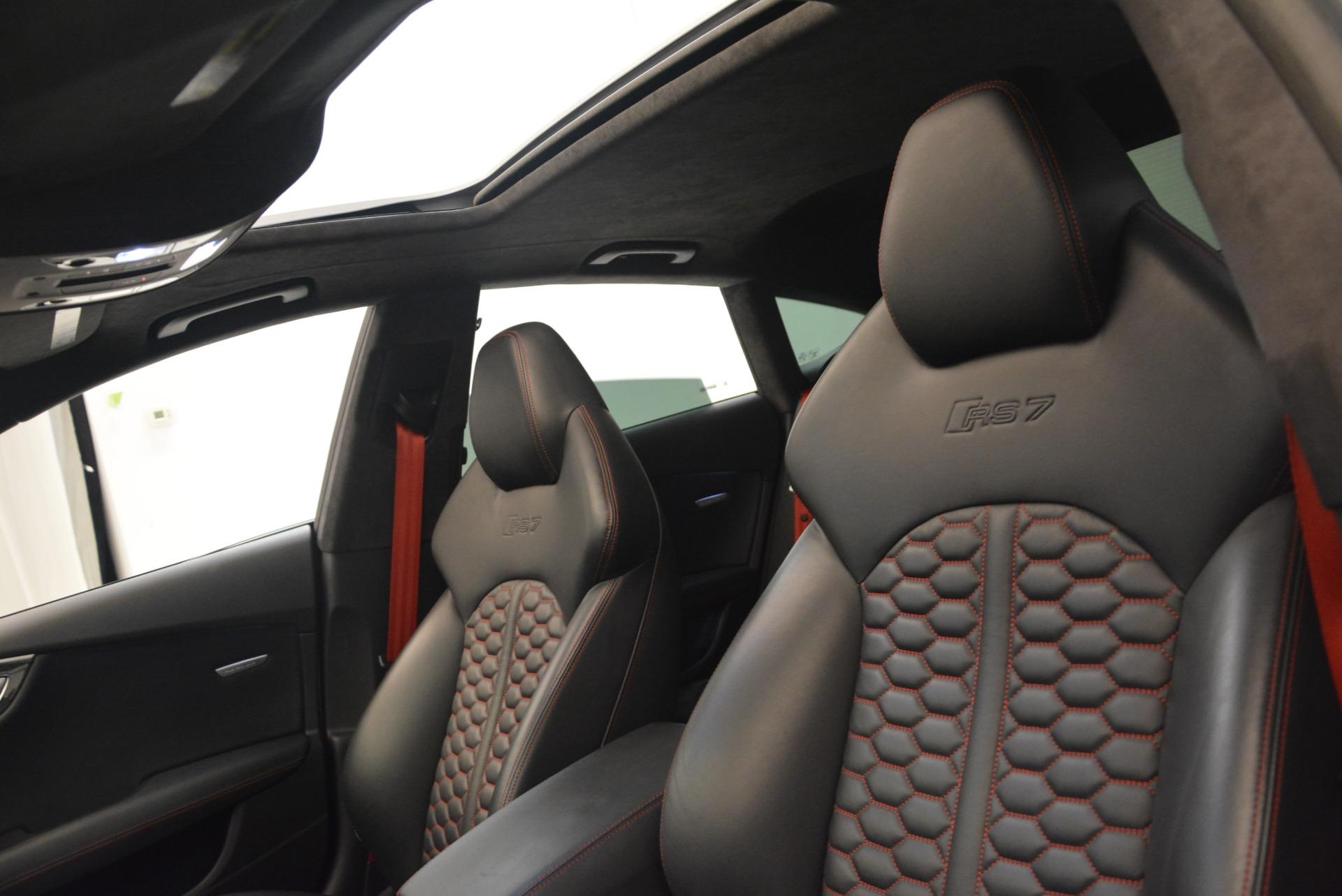 Used 2014 Audi RS 7 4.0T quattro Prestige For Sale In Greenwich, CT. Alfa Romeo of Greenwich, R416A 1262_p23