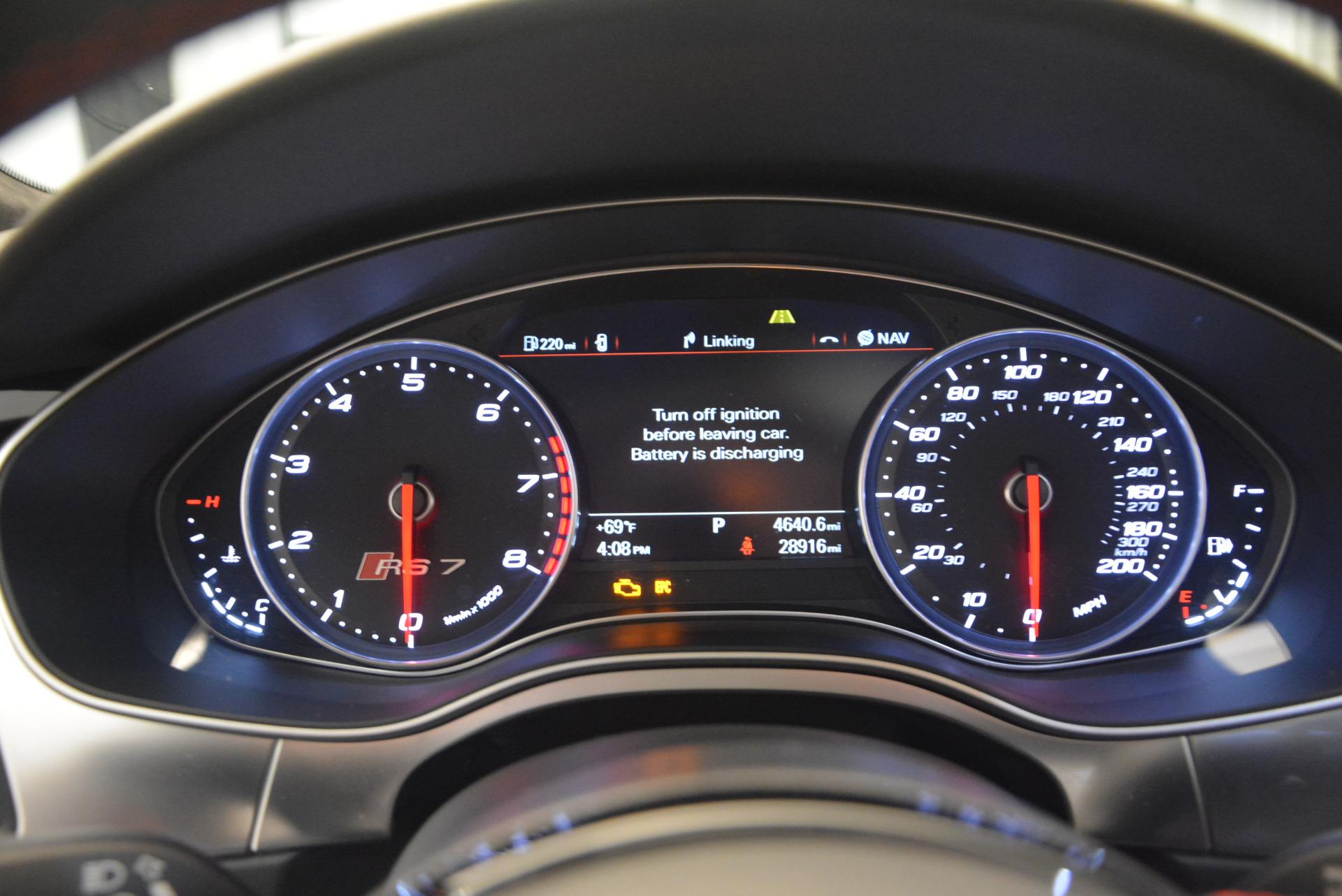 Used 2014 Audi RS 7 4.0T quattro Prestige For Sale In Greenwich, CT. Alfa Romeo of Greenwich, R416A 1262_p26