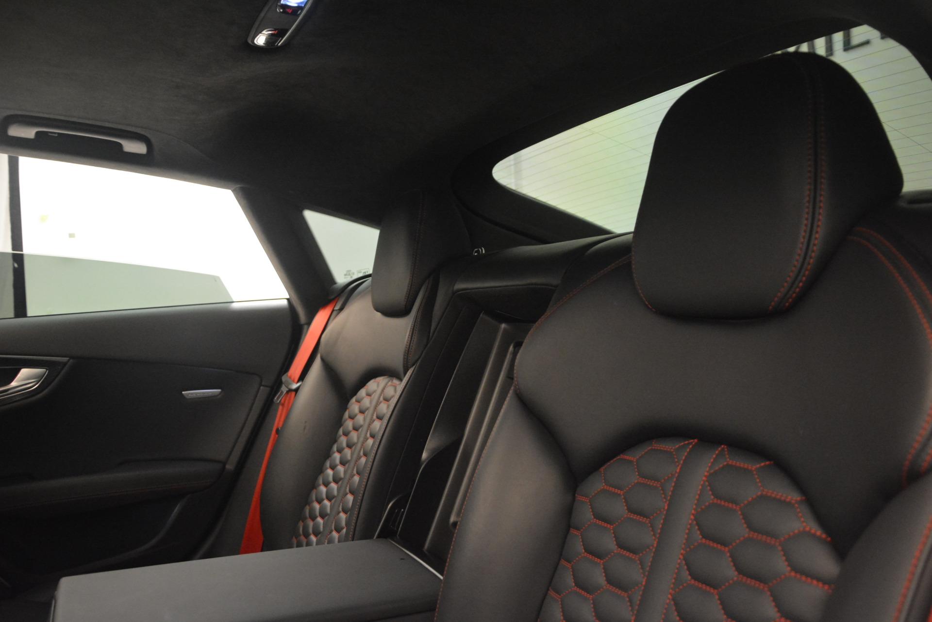 Used 2014 Audi RS 7 4.0T quattro Prestige For Sale In Greenwich, CT. Alfa Romeo of Greenwich, R416A 1262_p34