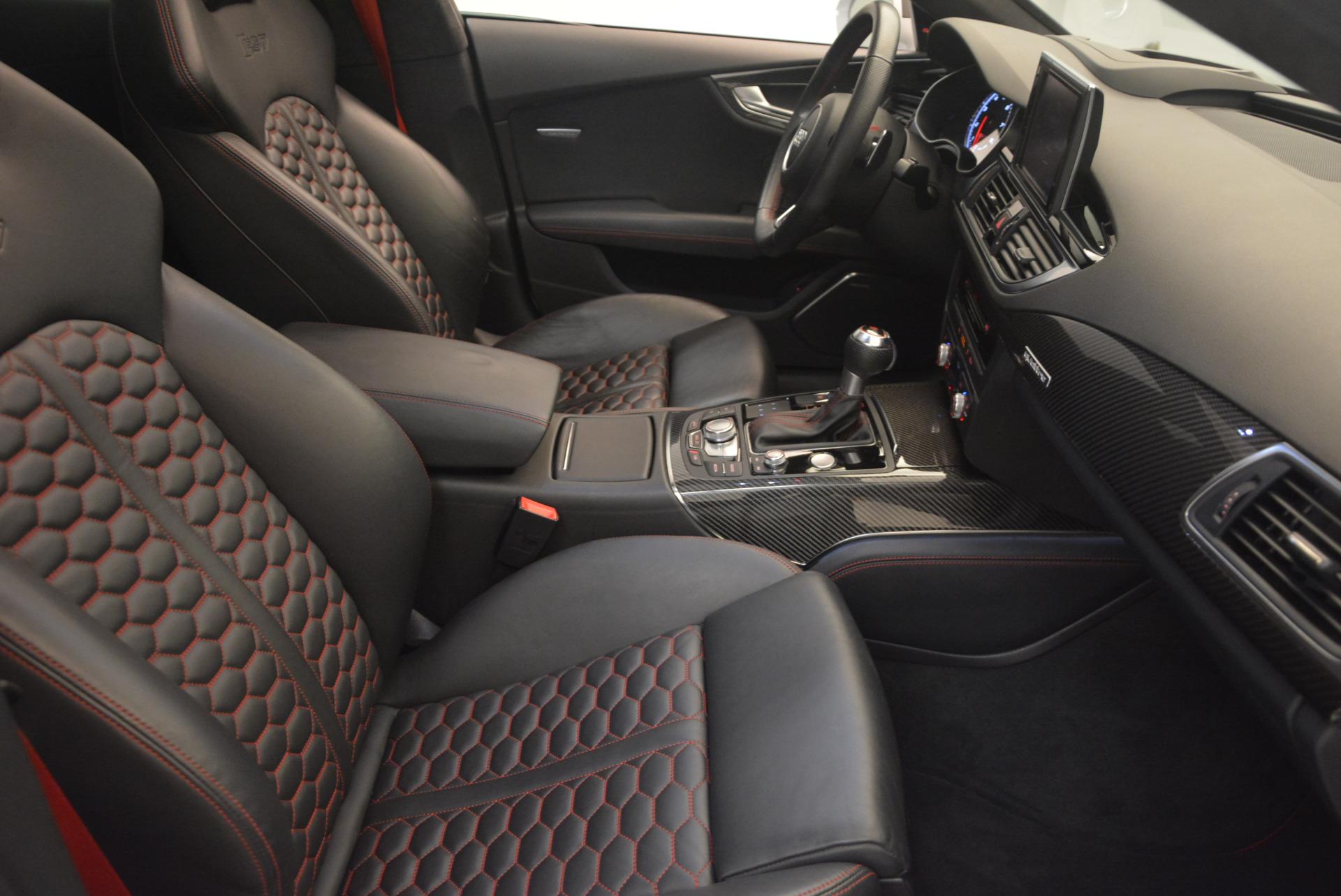 Used 2014 Audi RS 7 4.0T quattro Prestige For Sale In Greenwich, CT. Alfa Romeo of Greenwich, R416A 1262_p41