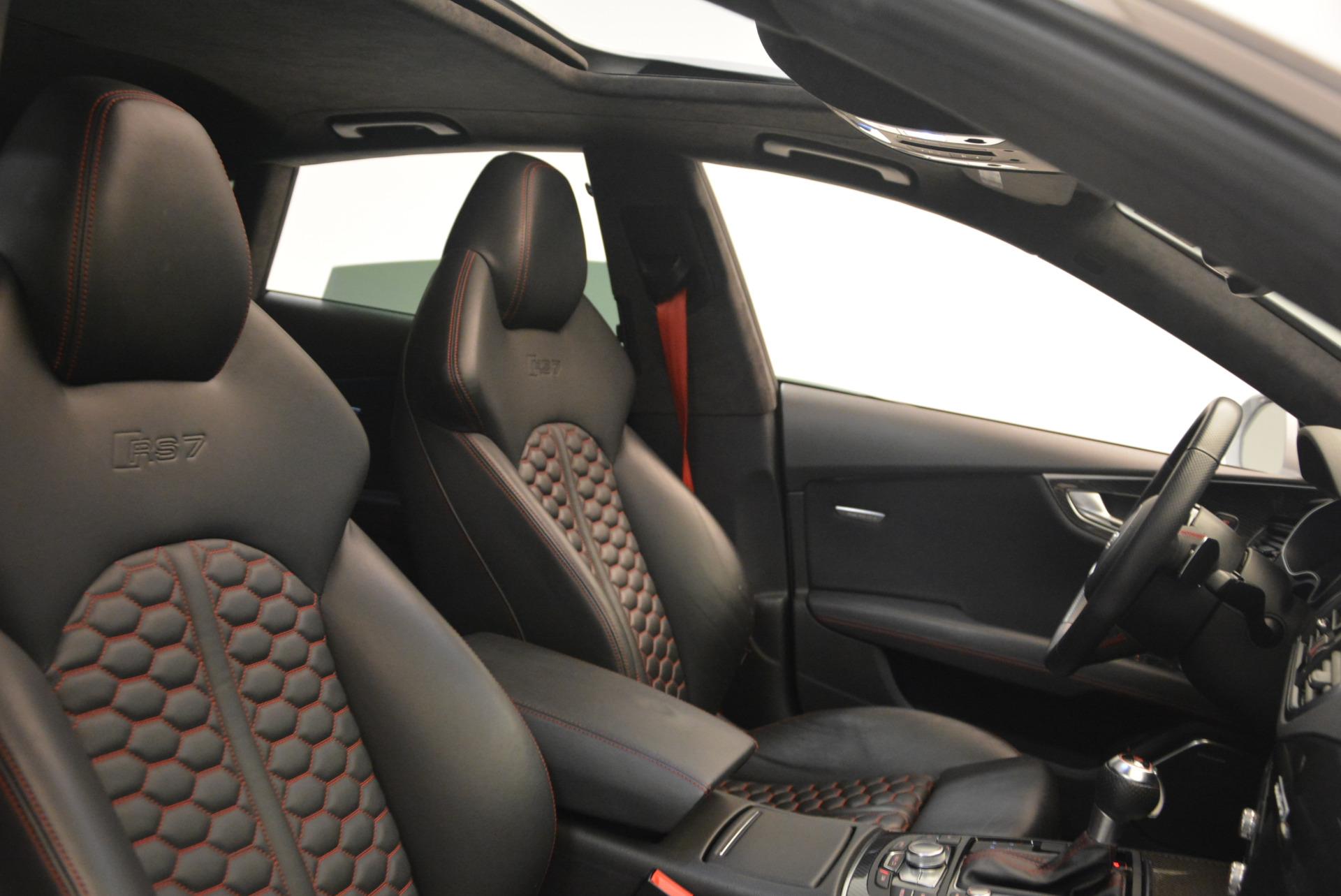 Used 2014 Audi RS 7 4.0T quattro Prestige For Sale In Greenwich, CT. Alfa Romeo of Greenwich, R416A 1262_p43