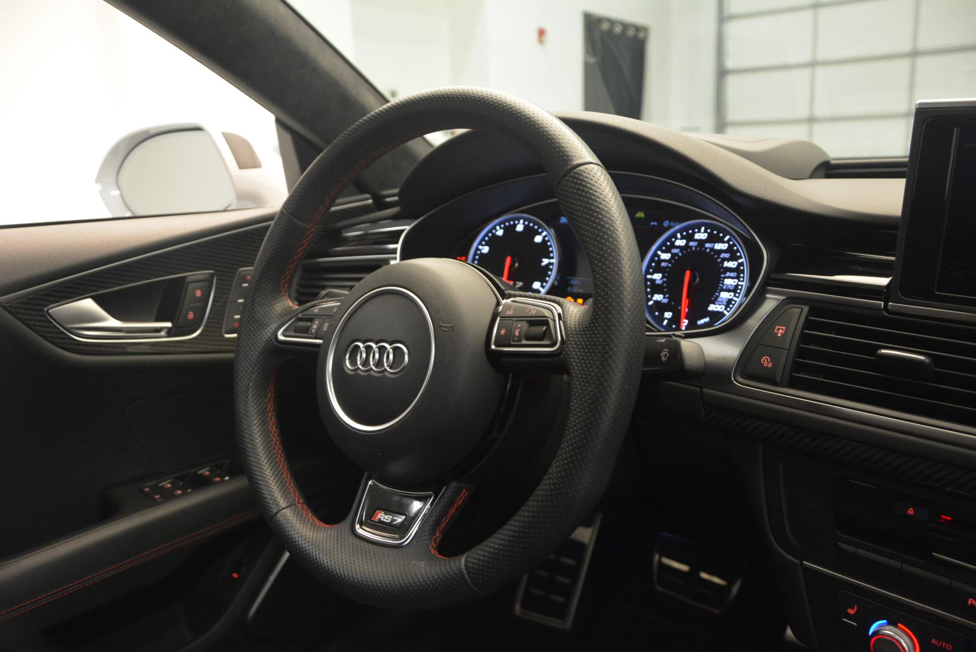 Used 2014 Audi RS 7 4.0T quattro Prestige For Sale In Greenwich, CT. Alfa Romeo of Greenwich, R416A 1262_p47