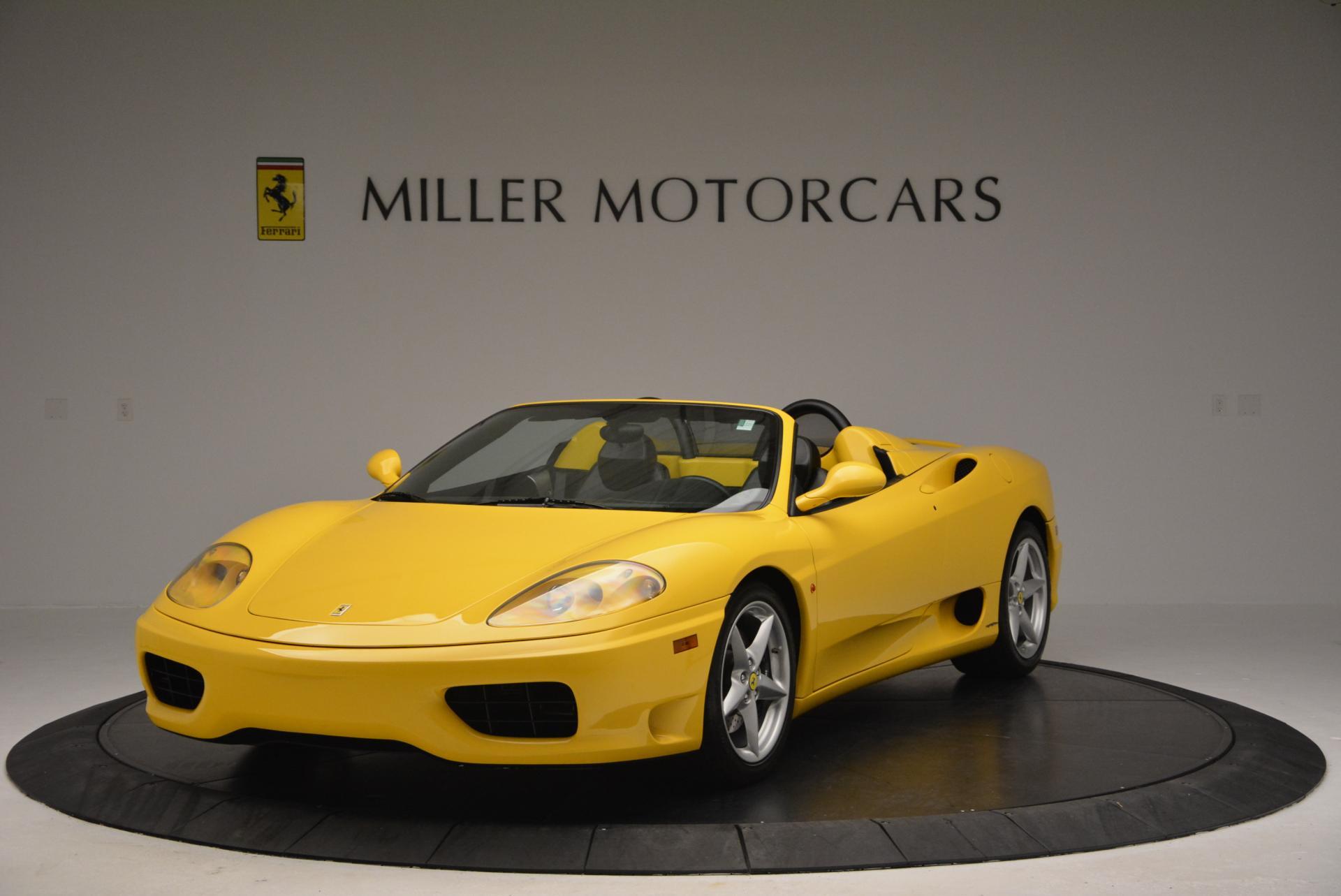 Used 2003 Ferrari 360 Spider 6-Speed Manual  For Sale In Greenwich, CT. Alfa Romeo of Greenwich, 4239A 127_main