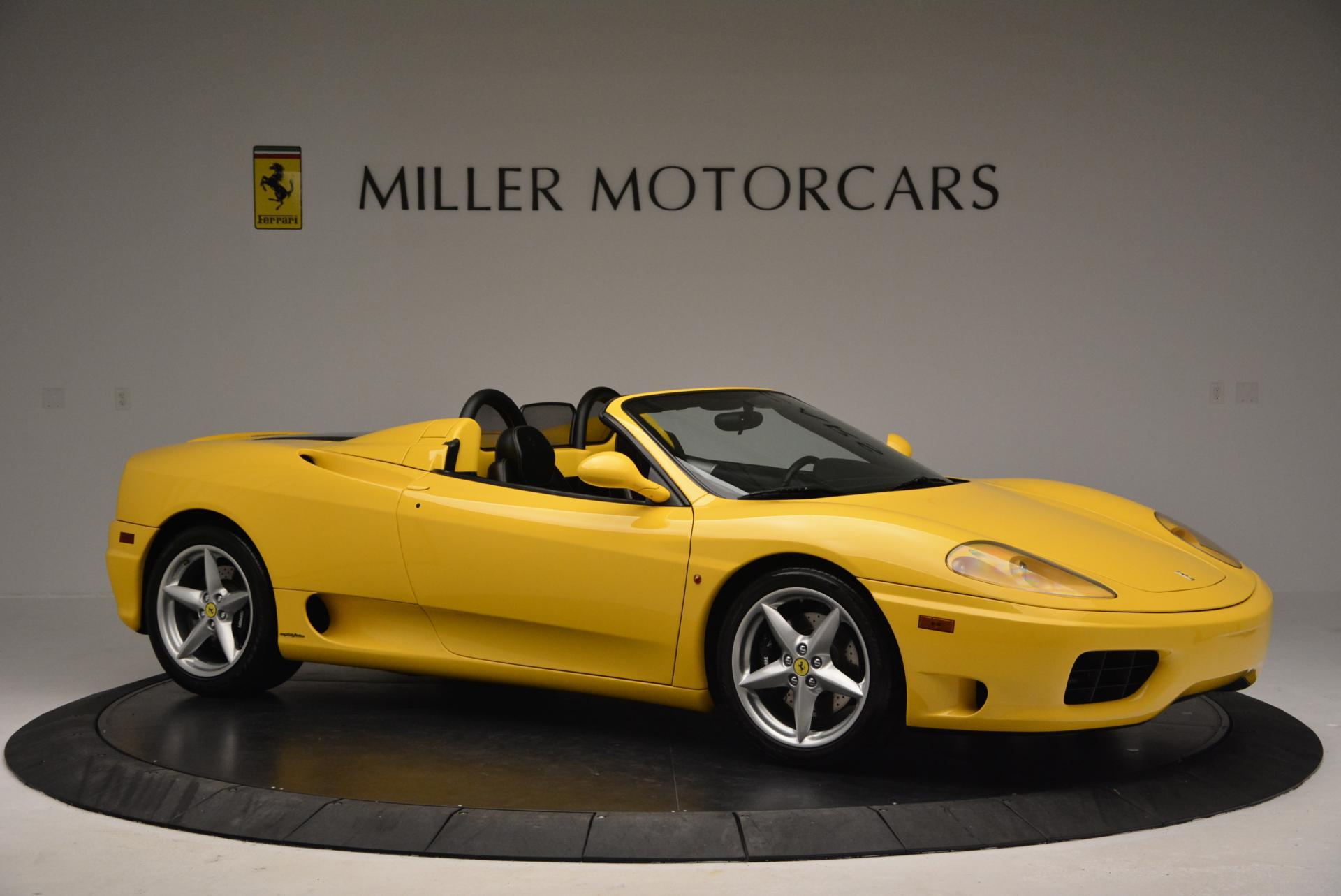 Used 2003 Ferrari 360 Spider 6-Speed Manual  For Sale In Greenwich, CT. Alfa Romeo of Greenwich, 4239A 127_p10