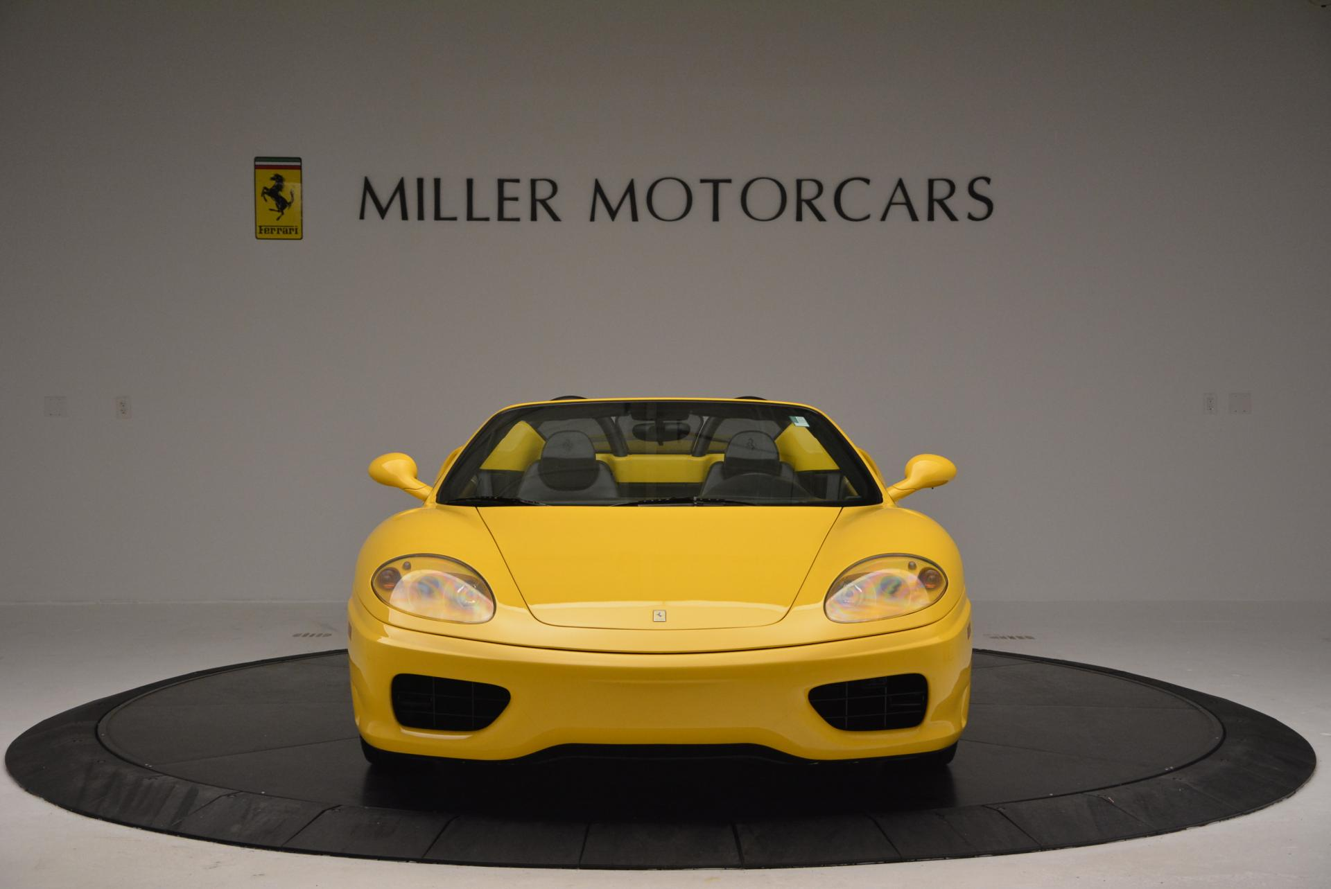 Used 2003 Ferrari 360 Spider 6-Speed Manual  For Sale In Greenwich, CT. Alfa Romeo of Greenwich, 4239A 127_p12