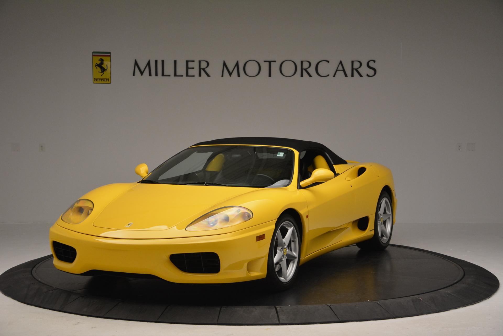 Used 2003 Ferrari 360 Spider 6-Speed Manual  For Sale In Greenwich, CT. Alfa Romeo of Greenwich, 4239A 127_p13