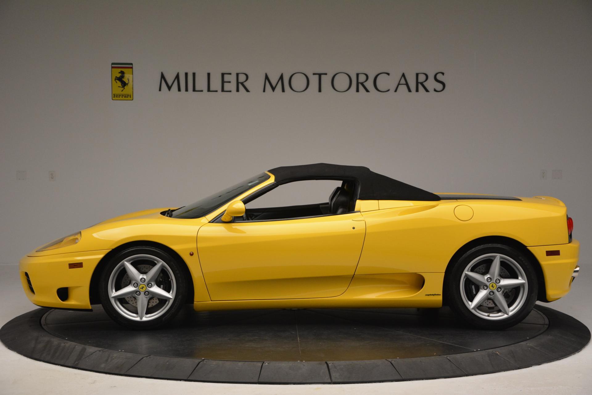 Used 2003 Ferrari 360 Spider 6-Speed Manual  For Sale In Greenwich, CT. Alfa Romeo of Greenwich, 4239A 127_p15