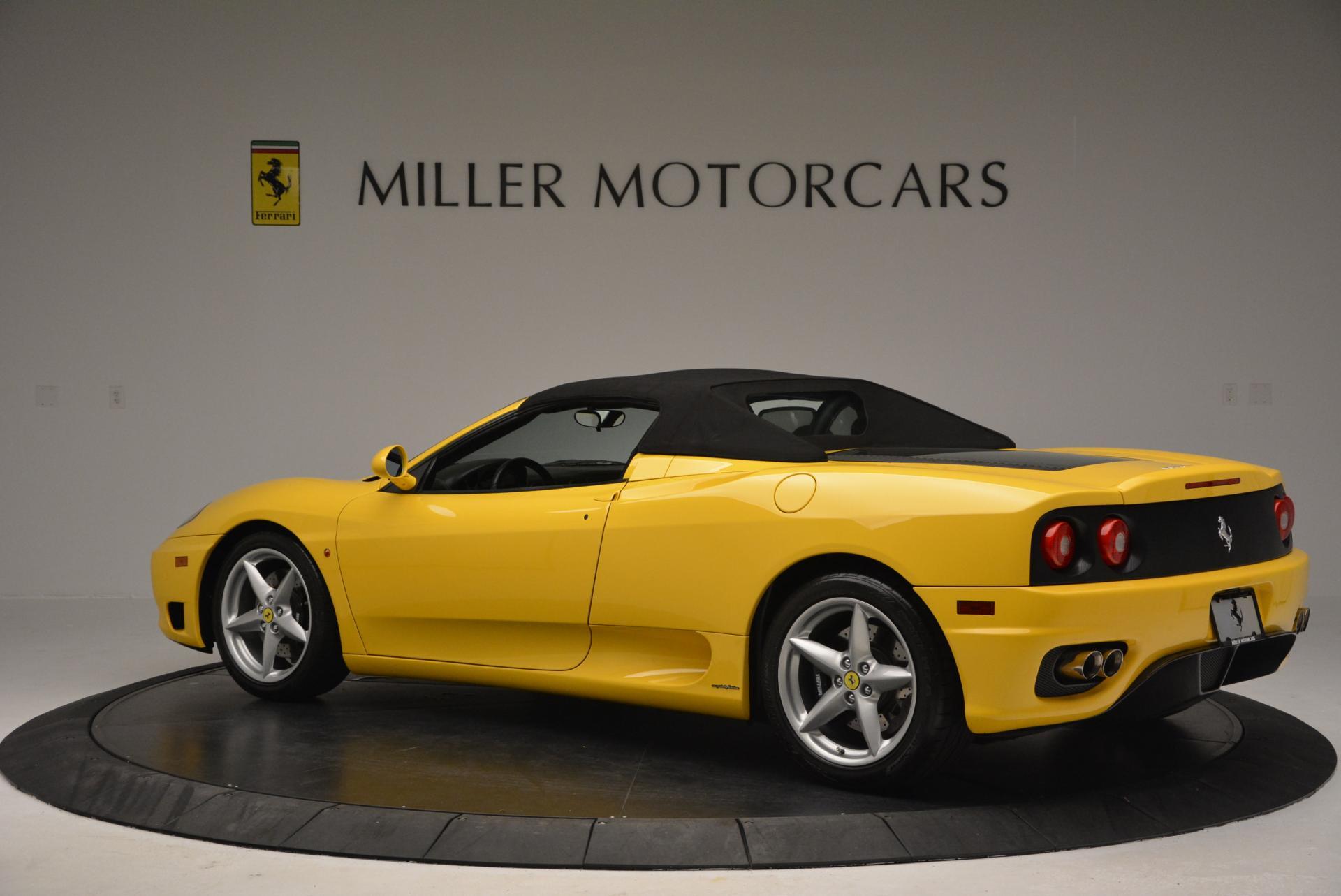 Used 2003 Ferrari 360 Spider 6-Speed Manual  For Sale In Greenwich, CT. Alfa Romeo of Greenwich, 4239A 127_p16