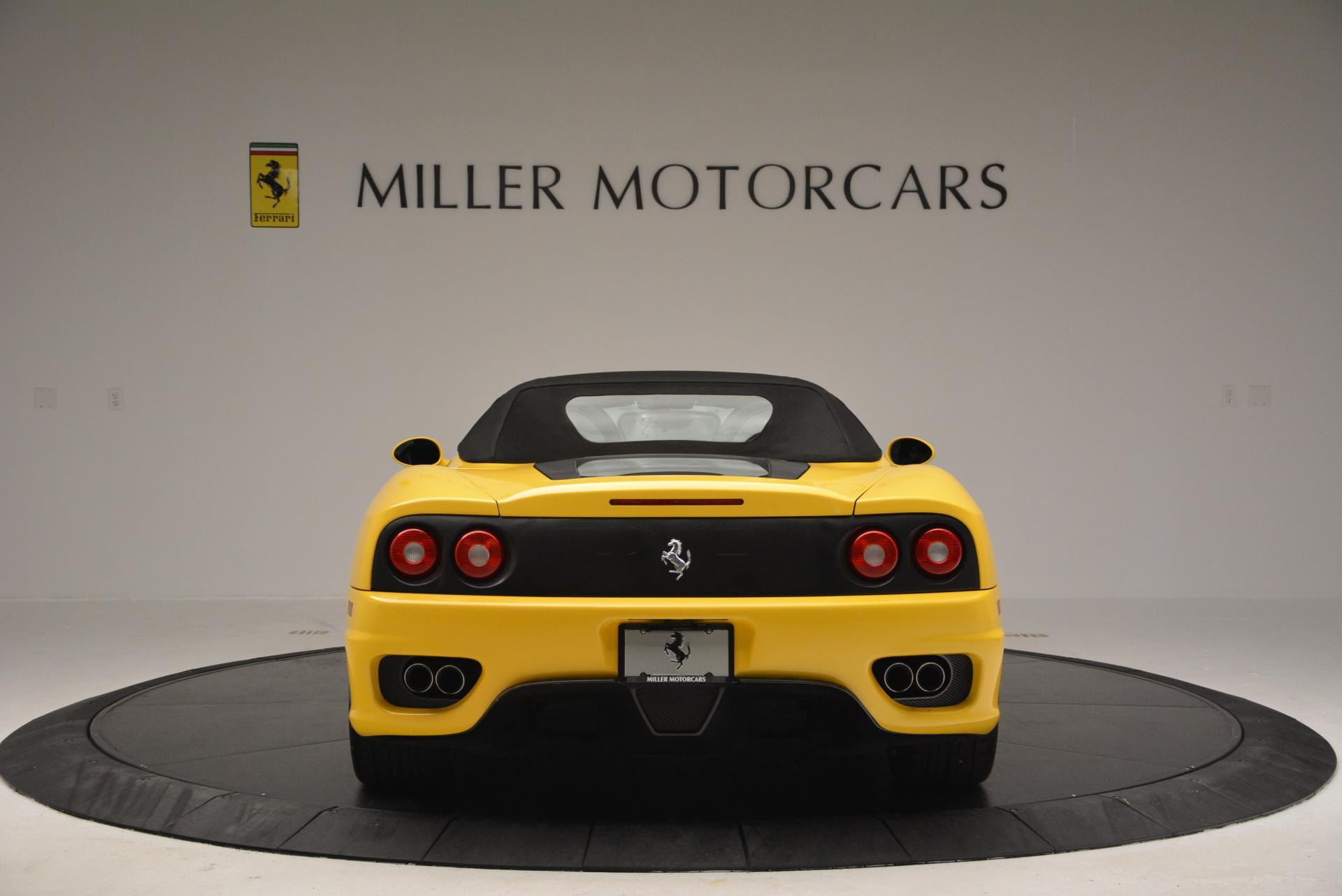 Used 2003 Ferrari 360 Spider 6-Speed Manual  For Sale In Greenwich, CT. Alfa Romeo of Greenwich, 4239A 127_p18