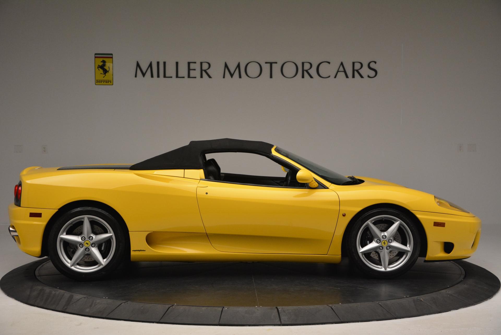 Used 2003 Ferrari 360 Spider 6-Speed Manual  For Sale In Greenwich, CT. Alfa Romeo of Greenwich, 4239A 127_p21