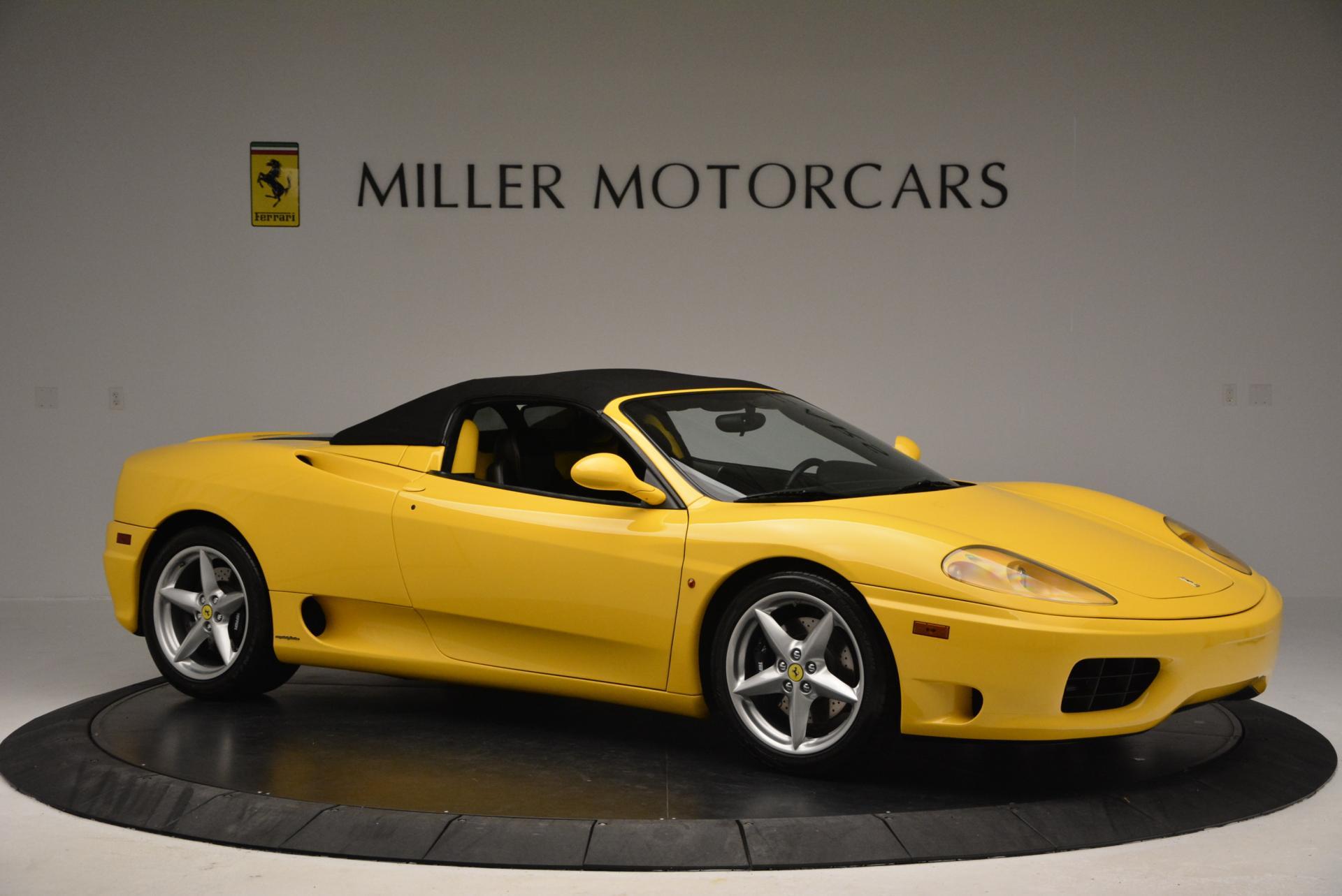 Used 2003 Ferrari 360 Spider 6-Speed Manual  For Sale In Greenwich, CT. Alfa Romeo of Greenwich, 4239A 127_p22