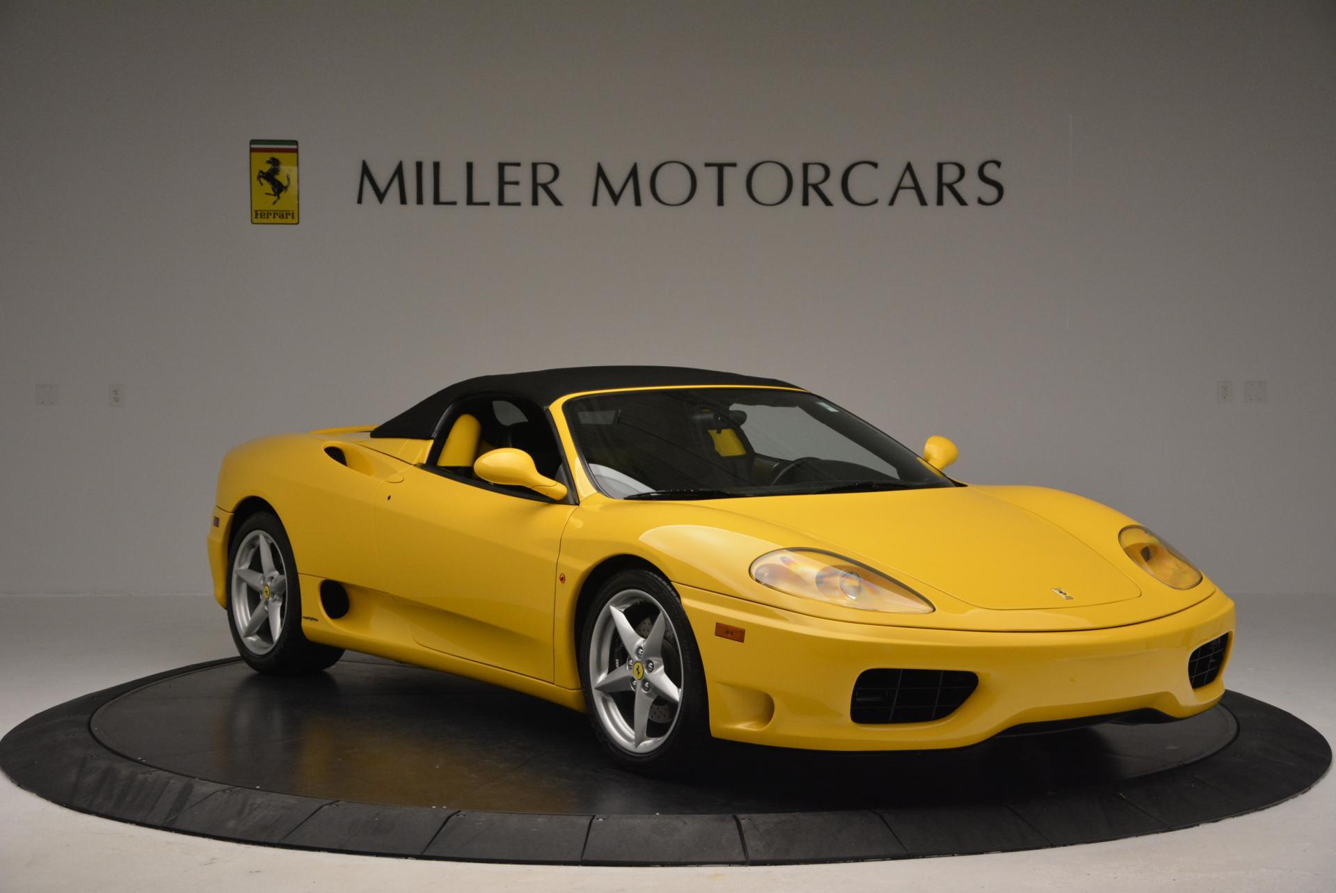 Used 2003 Ferrari 360 Spider 6-Speed Manual  For Sale In Greenwich, CT. Alfa Romeo of Greenwich, 4239A 127_p23